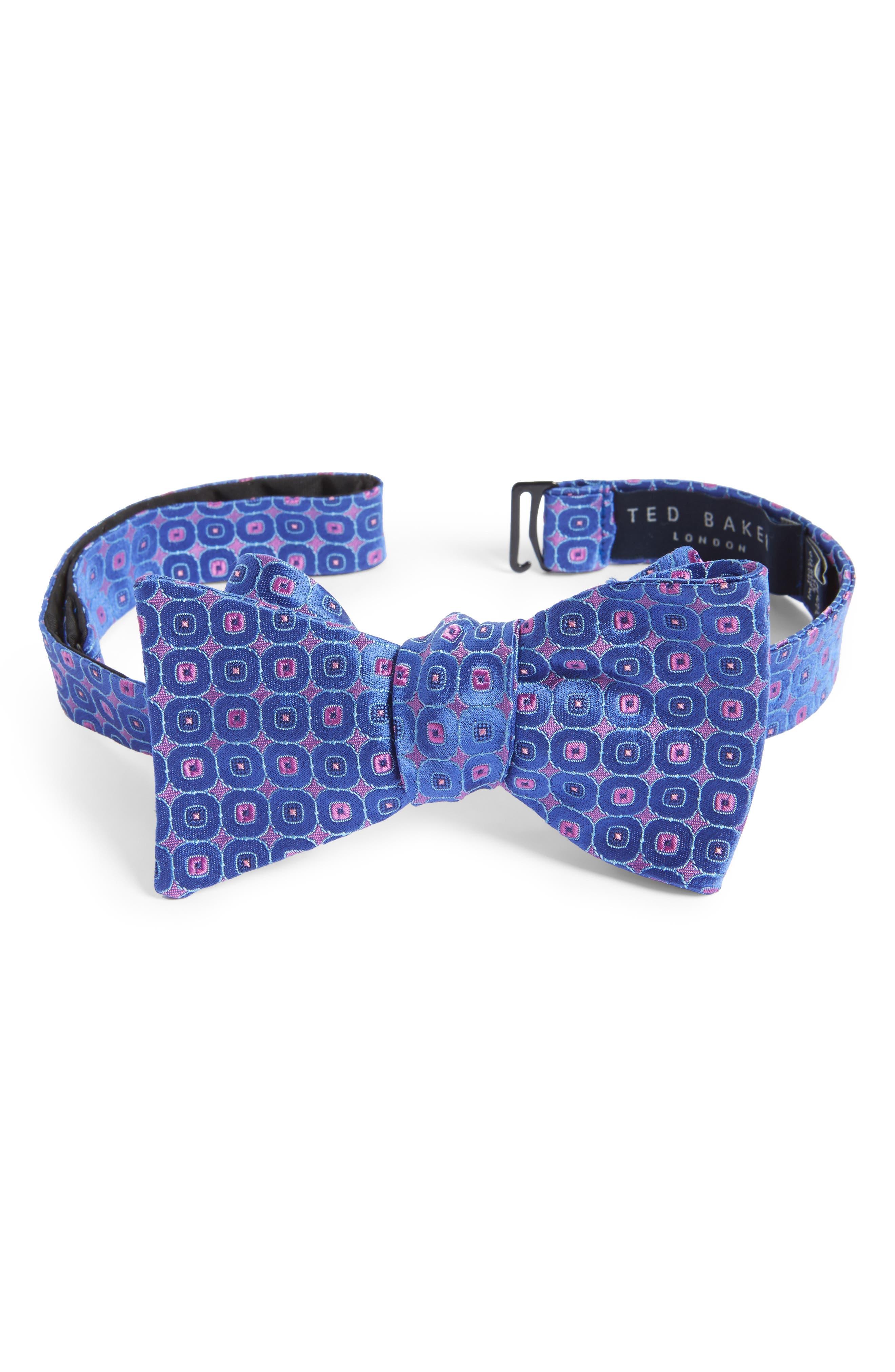 Ted Baker London Medallion Silk Bow Tie