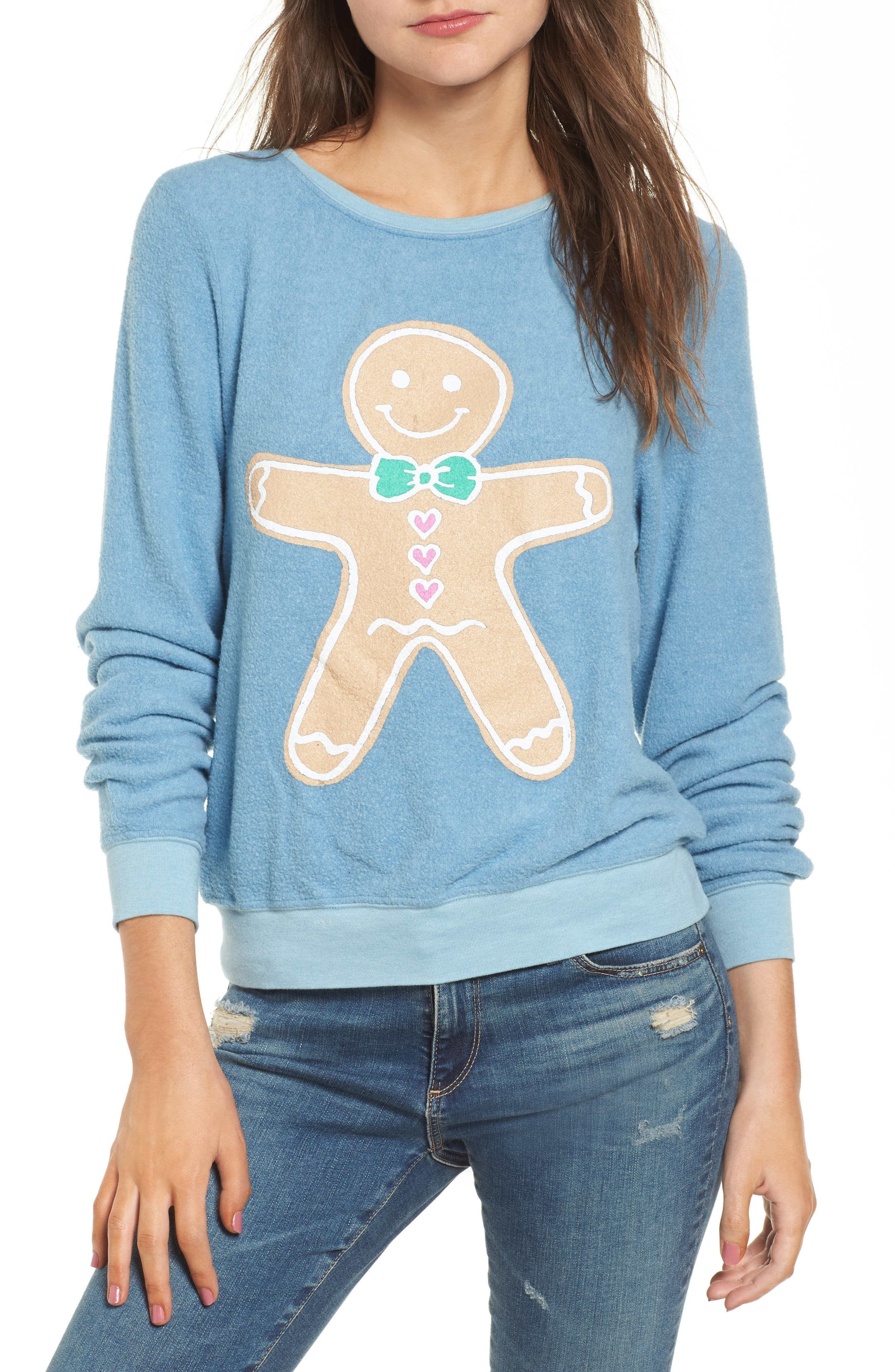 Dream Scene Gingerbread Man Sweatshirt