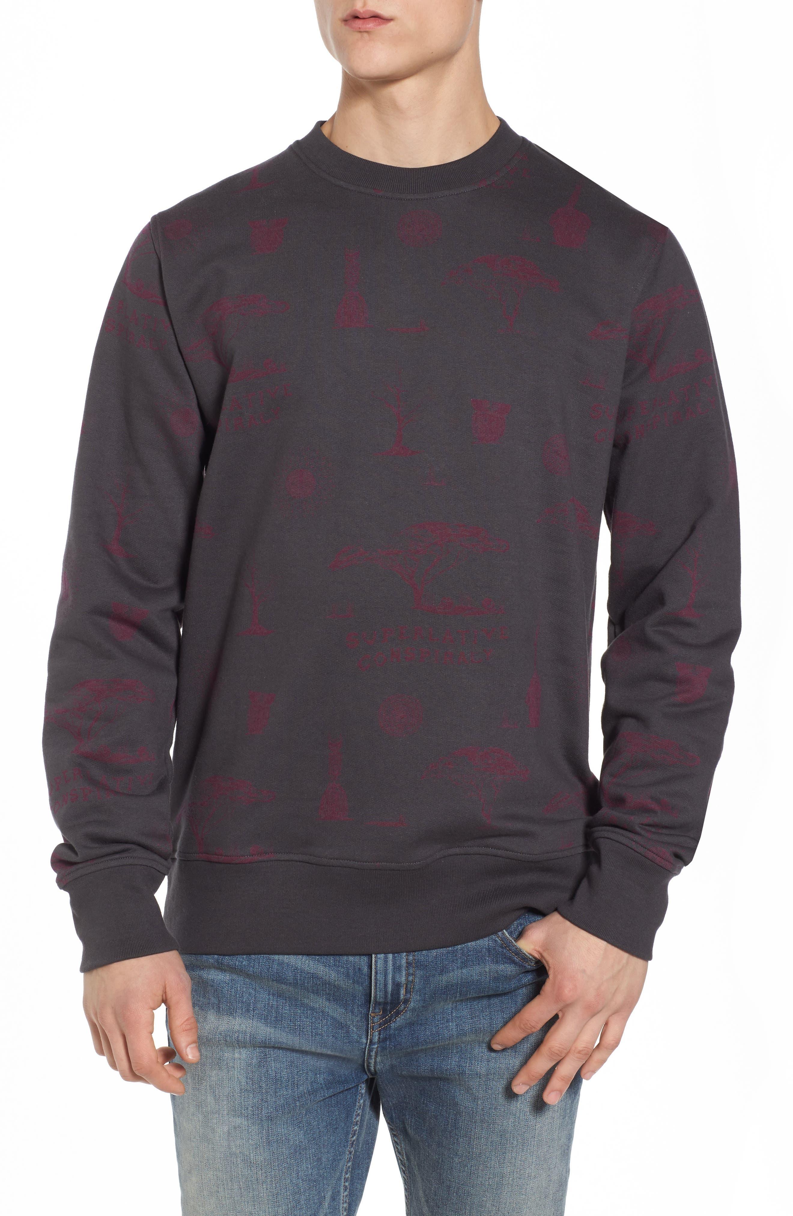 WeSC Miles The Voodoo Fleece Sweatshirt
