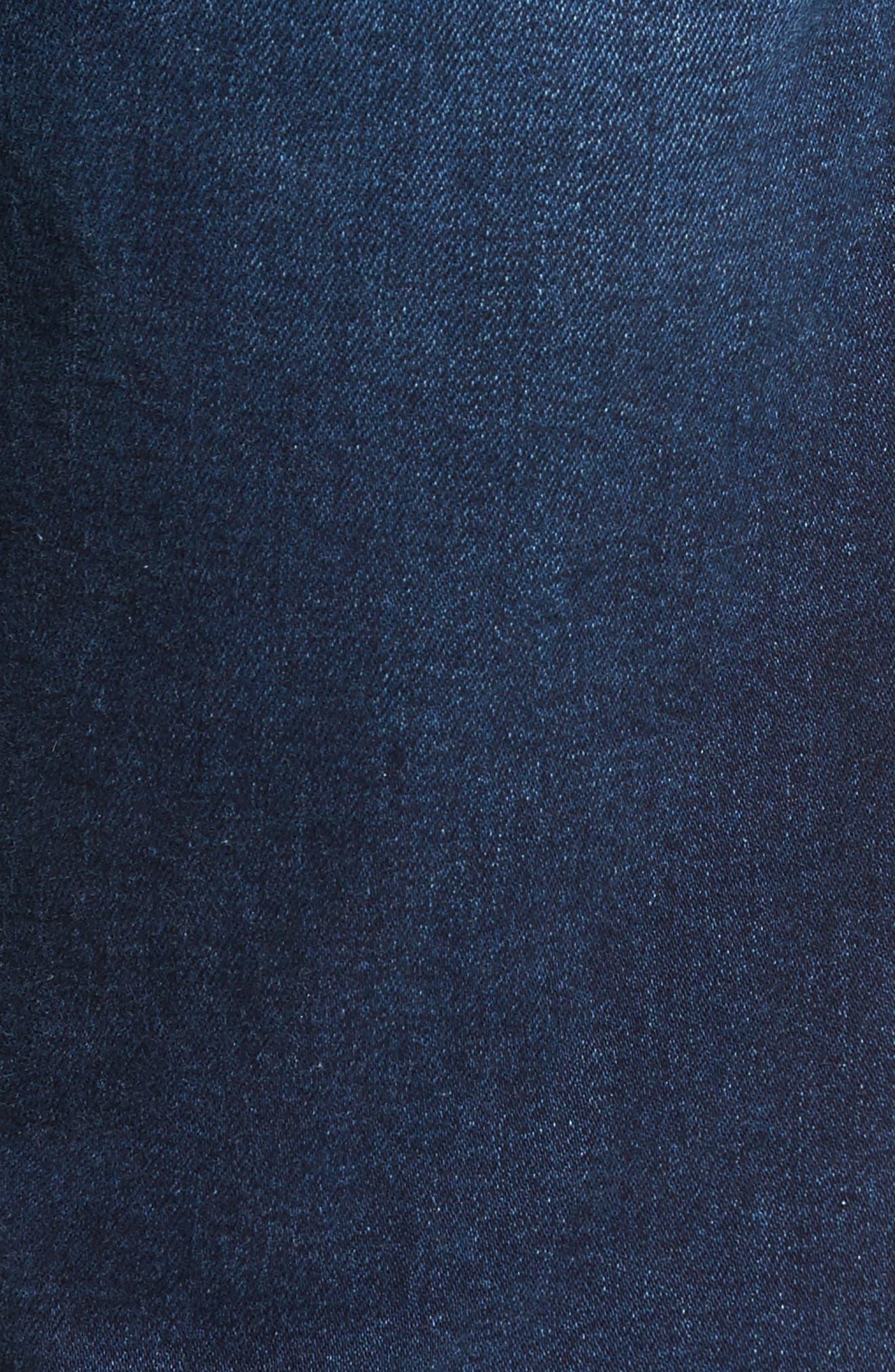 Brixton Slim Straight Leg Jeans,                             Alternate thumbnail 5, color,                             Line