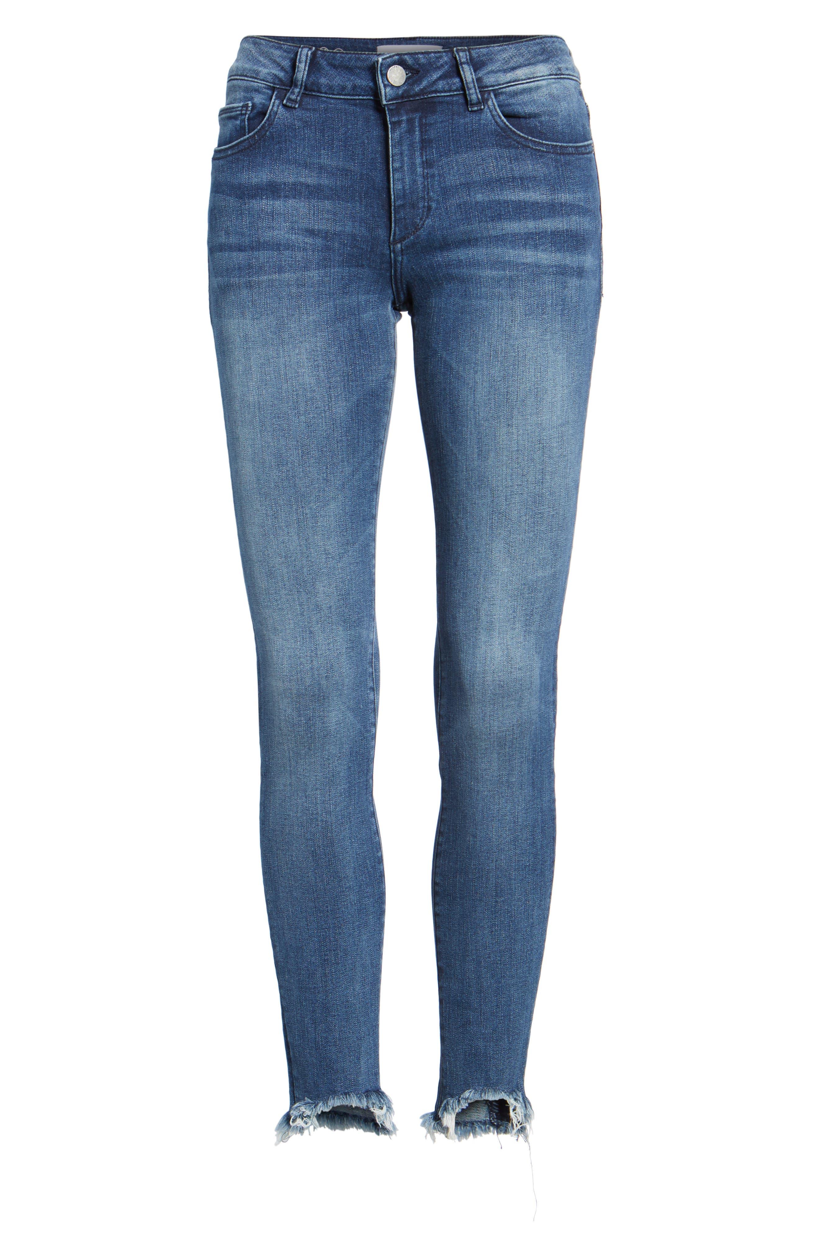 Emma Power Legging Jeans,                             Alternate thumbnail 6, color,                             Fenwick