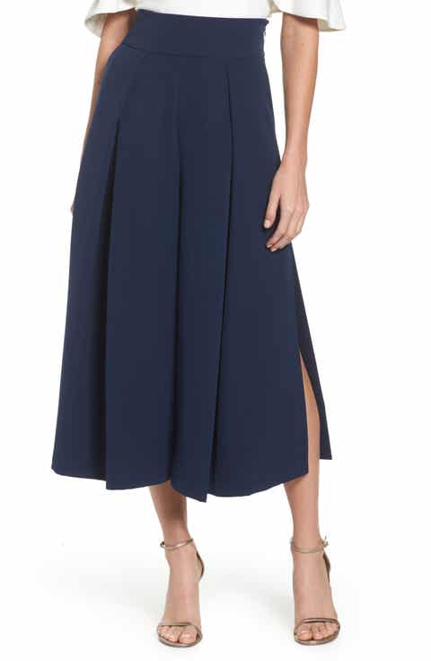 Eliza J Pleated Wide Leg Pants