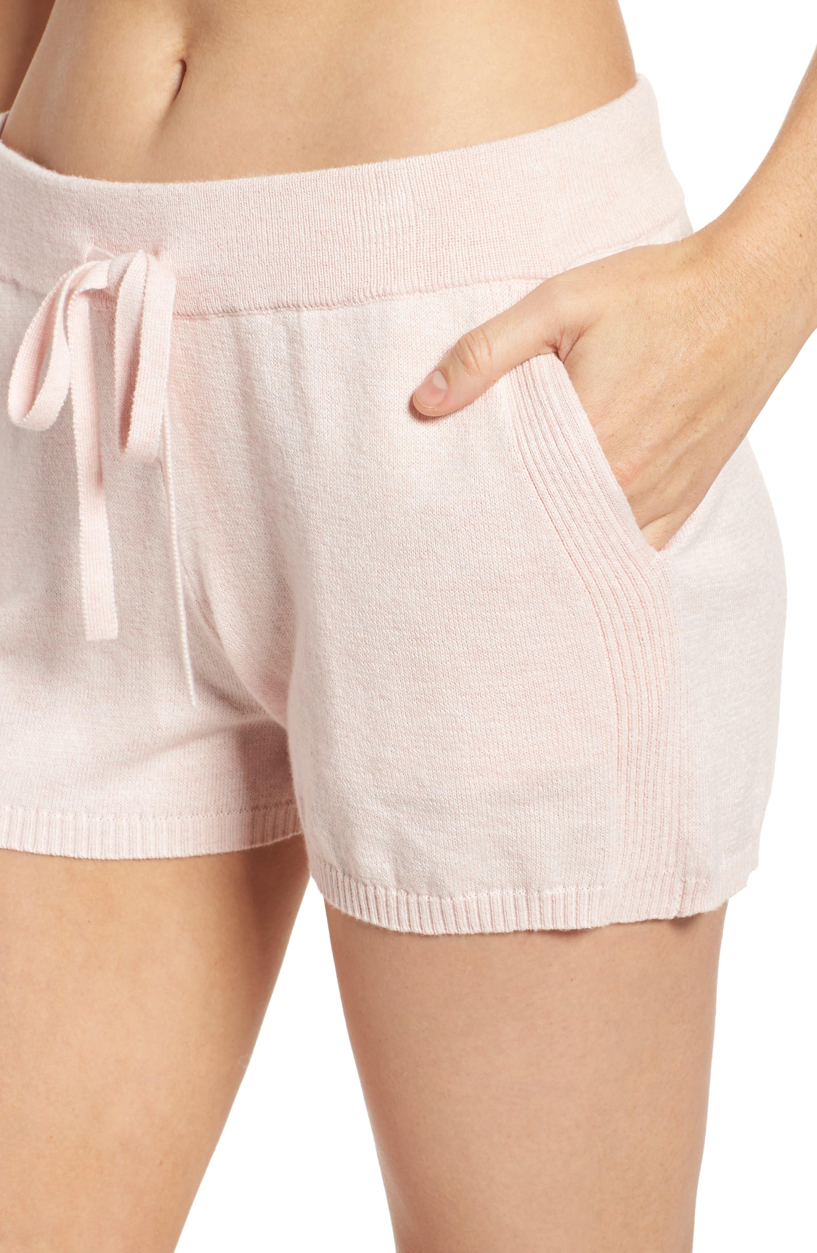 Vic Lounge Shorts,                             Alternate thumbnail 6, color,                             Soft Pink