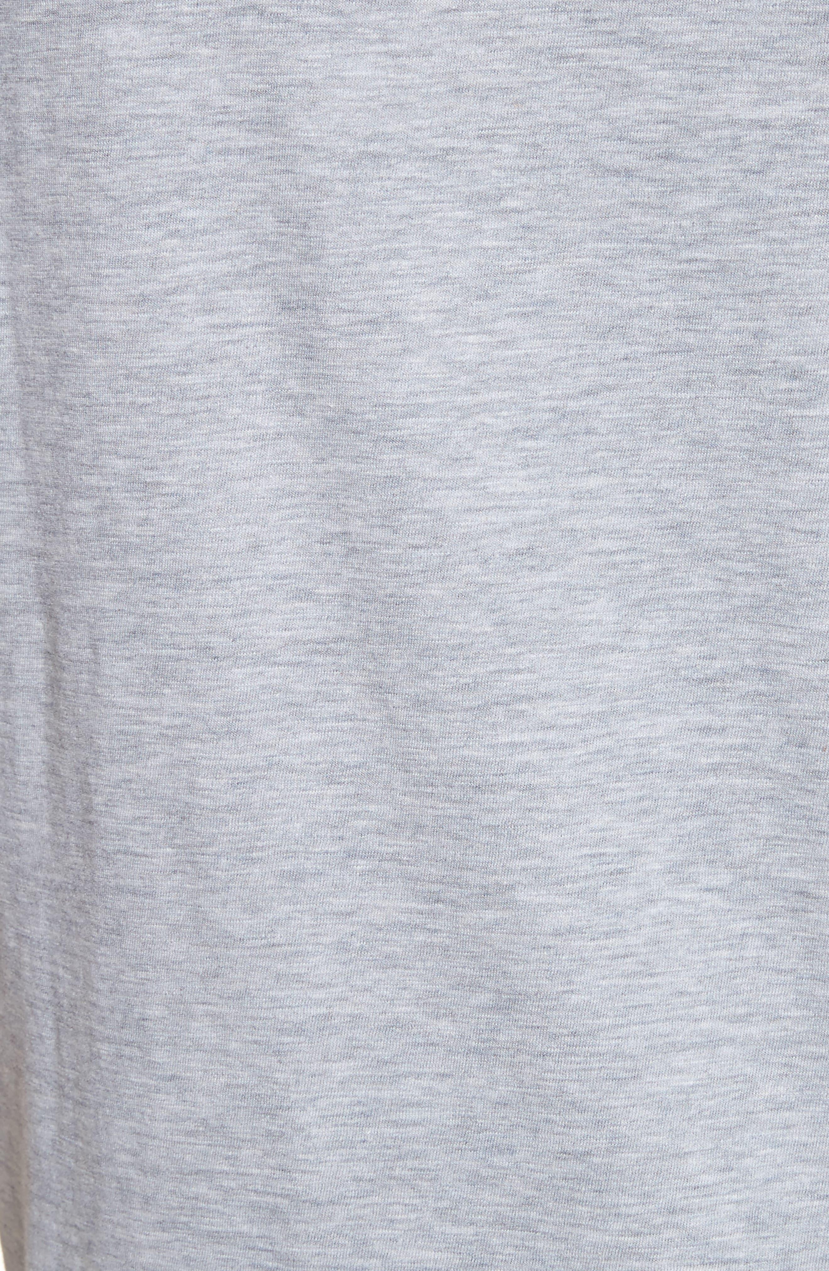 Dog Logo Graphic T-Shirt,                             Alternate thumbnail 5, color,                             Grey