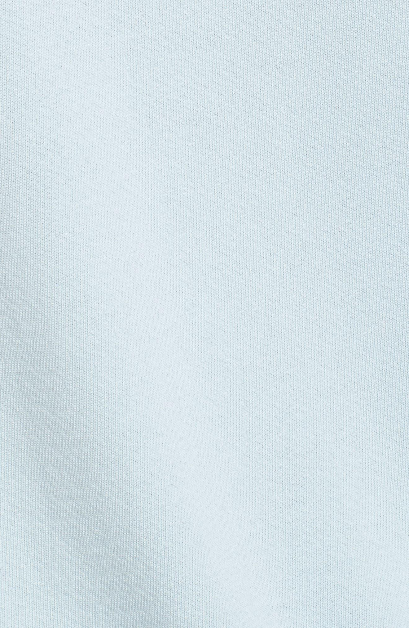 Core Hoodie,                             Alternate thumbnail 5, color,                             Pale Blue W/ White