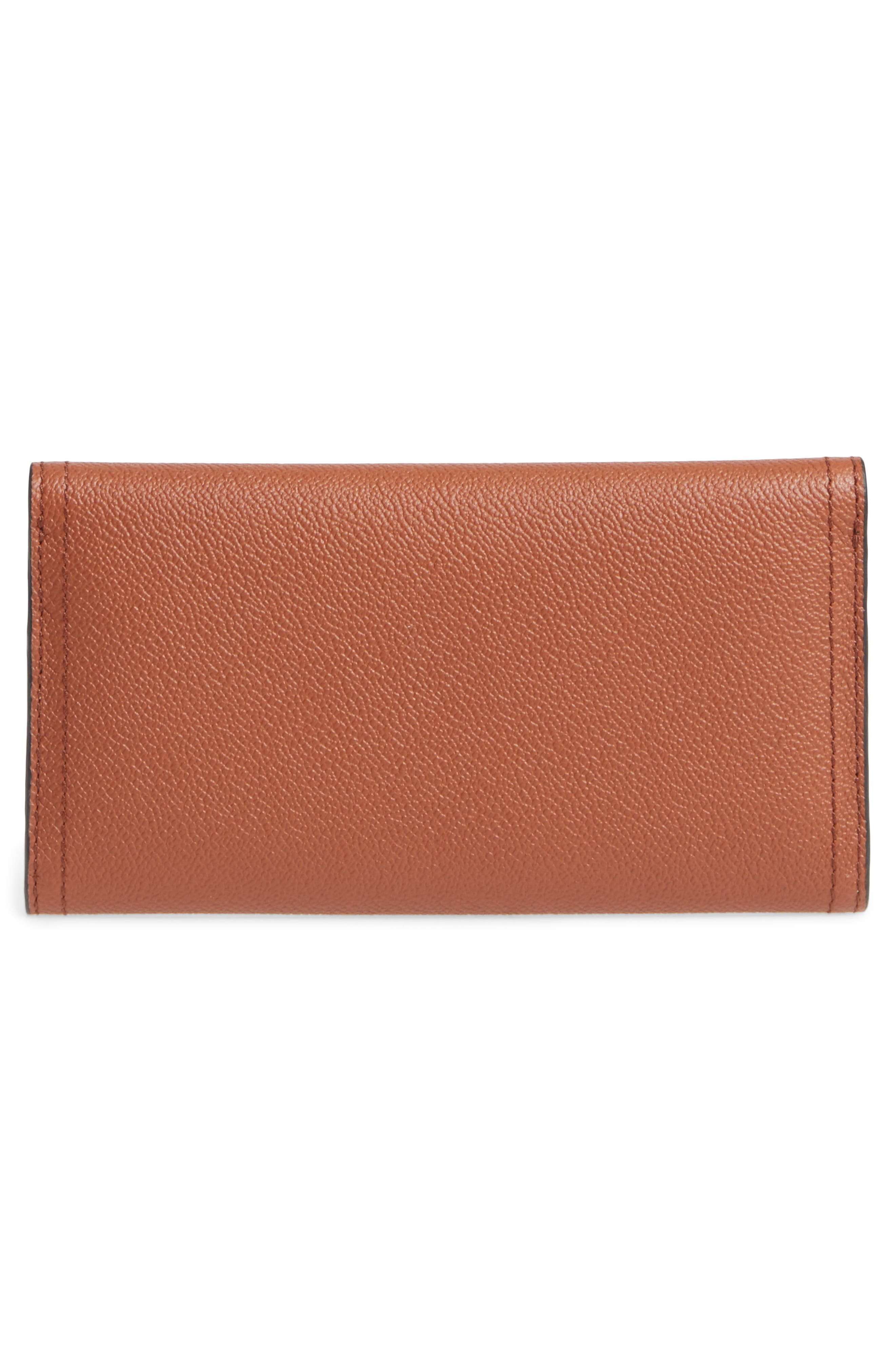 Alternate Image 4  - Burberry Kenton Leather Flap Wallet with Removable Check Card Case