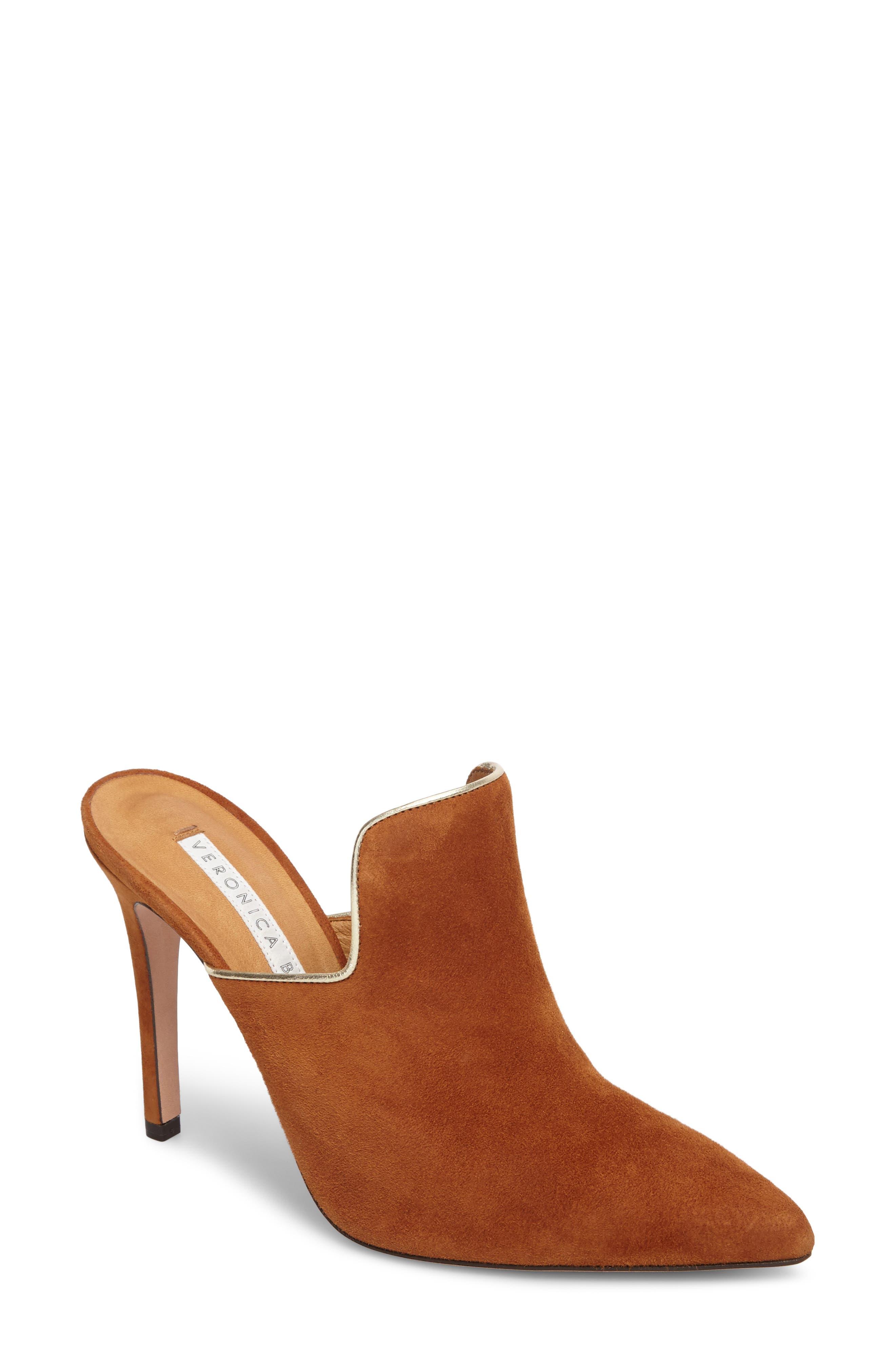 Alternate Image 1 Selected - Veronica Beard Penn Pointy Toe Mule (Women)