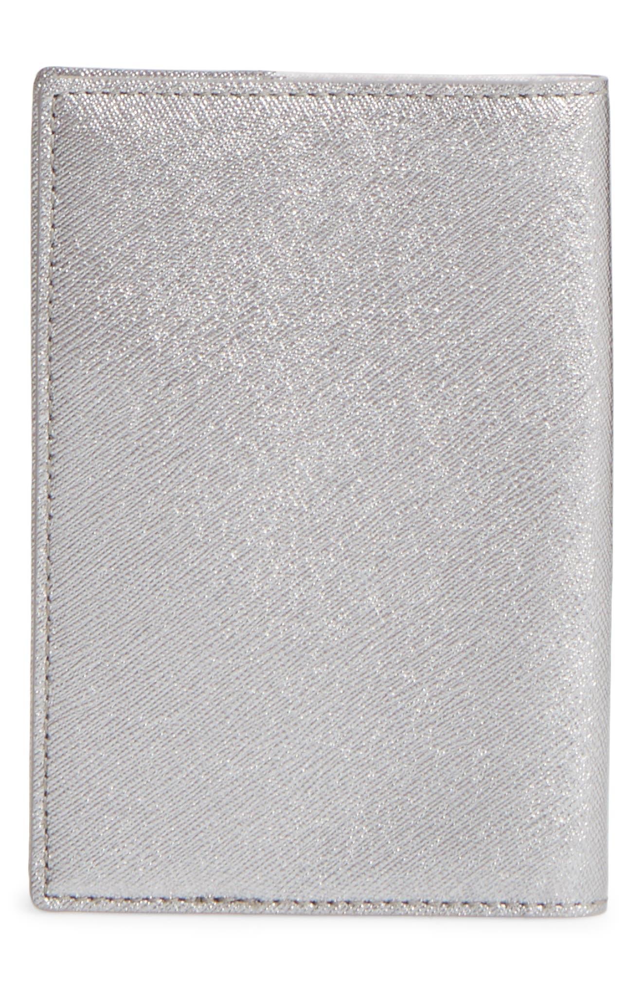 starbright owl leather passport case,                             Alternate thumbnail 4, color,                             Multi