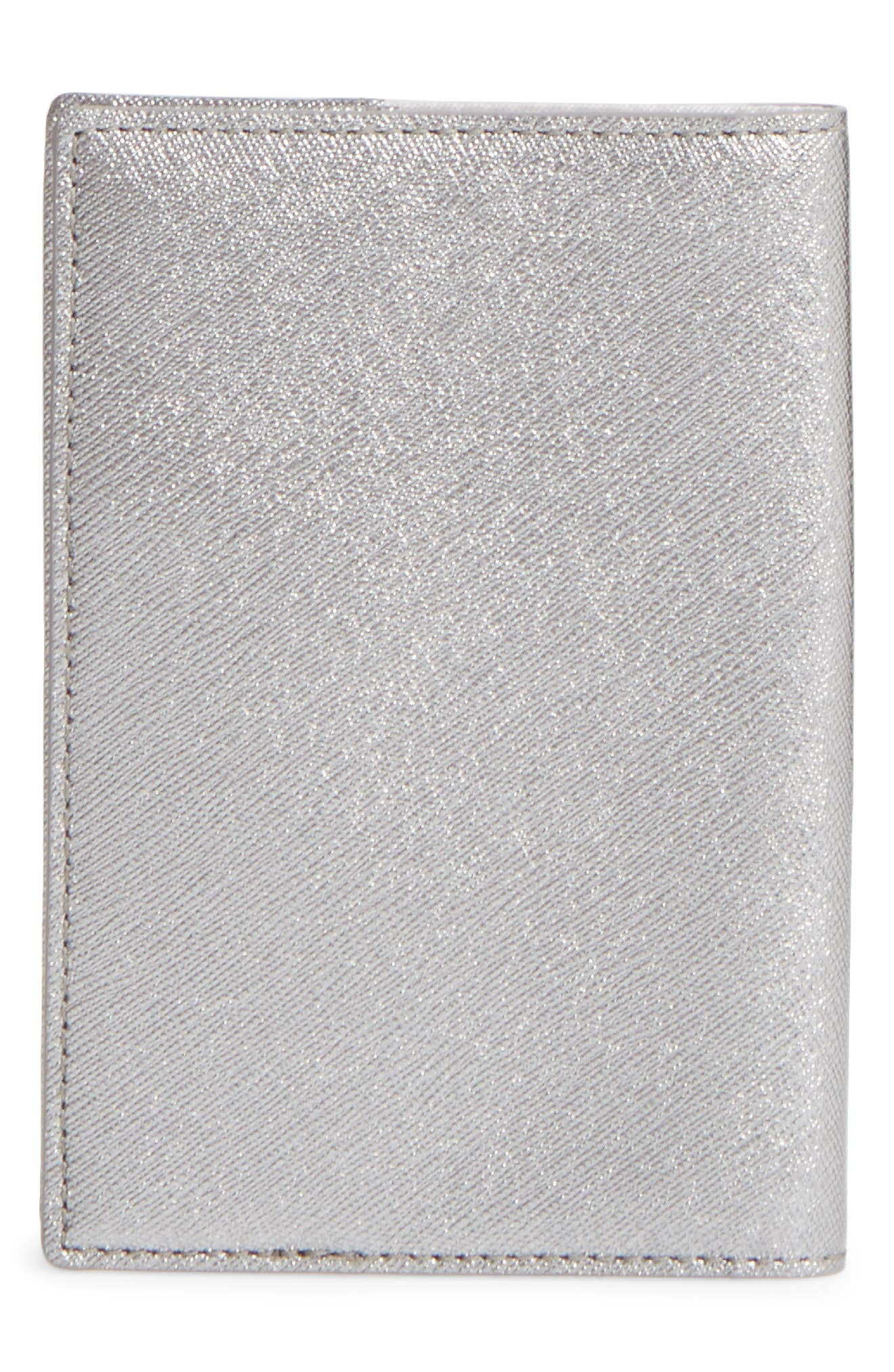 Alternate Image 4  - kate spade new york starbright owl leather passport case