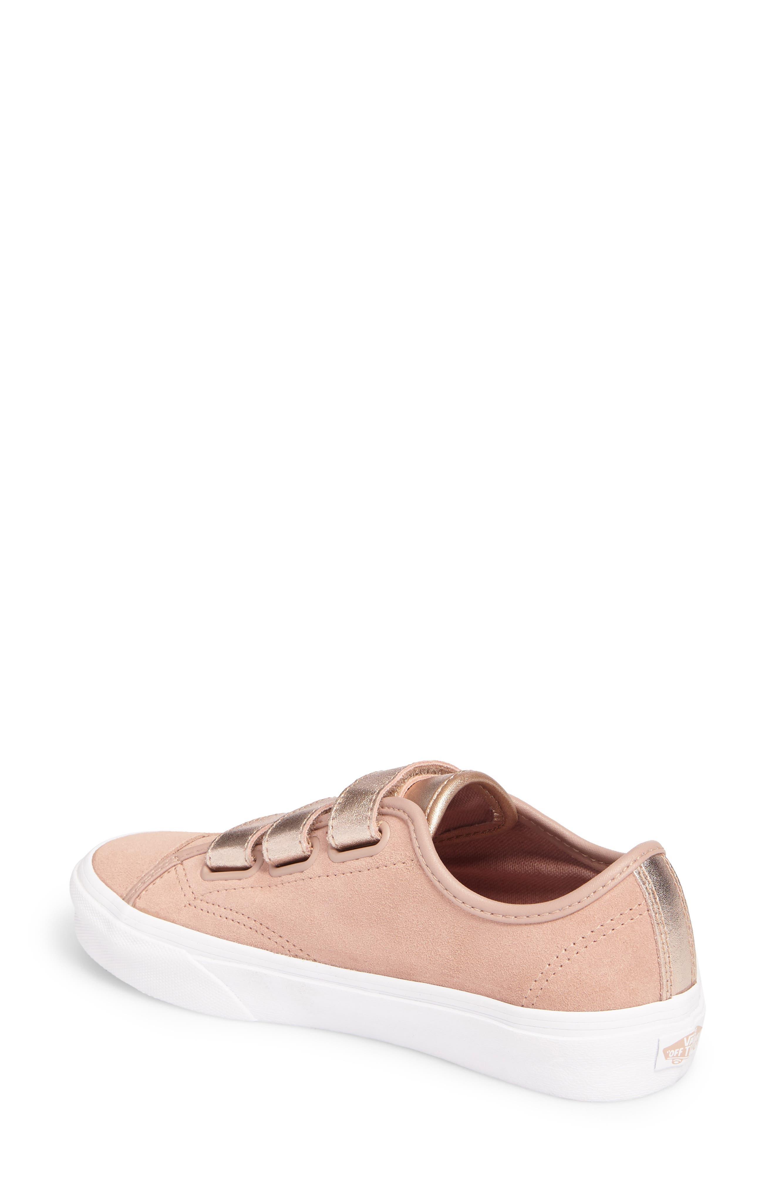 Style 23 V Sneaker,                             Alternate thumbnail 3, color,                             Mahogany Rose/ True White