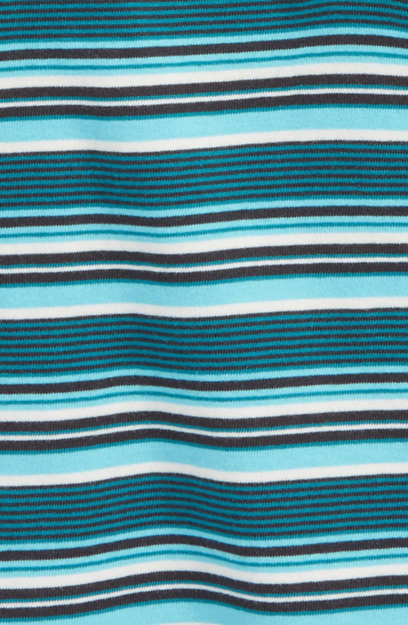 Alternate Image 2  - Tea Collection Ugie Stripe Henley T-Shirt (Toddler Boys & Little Boys)