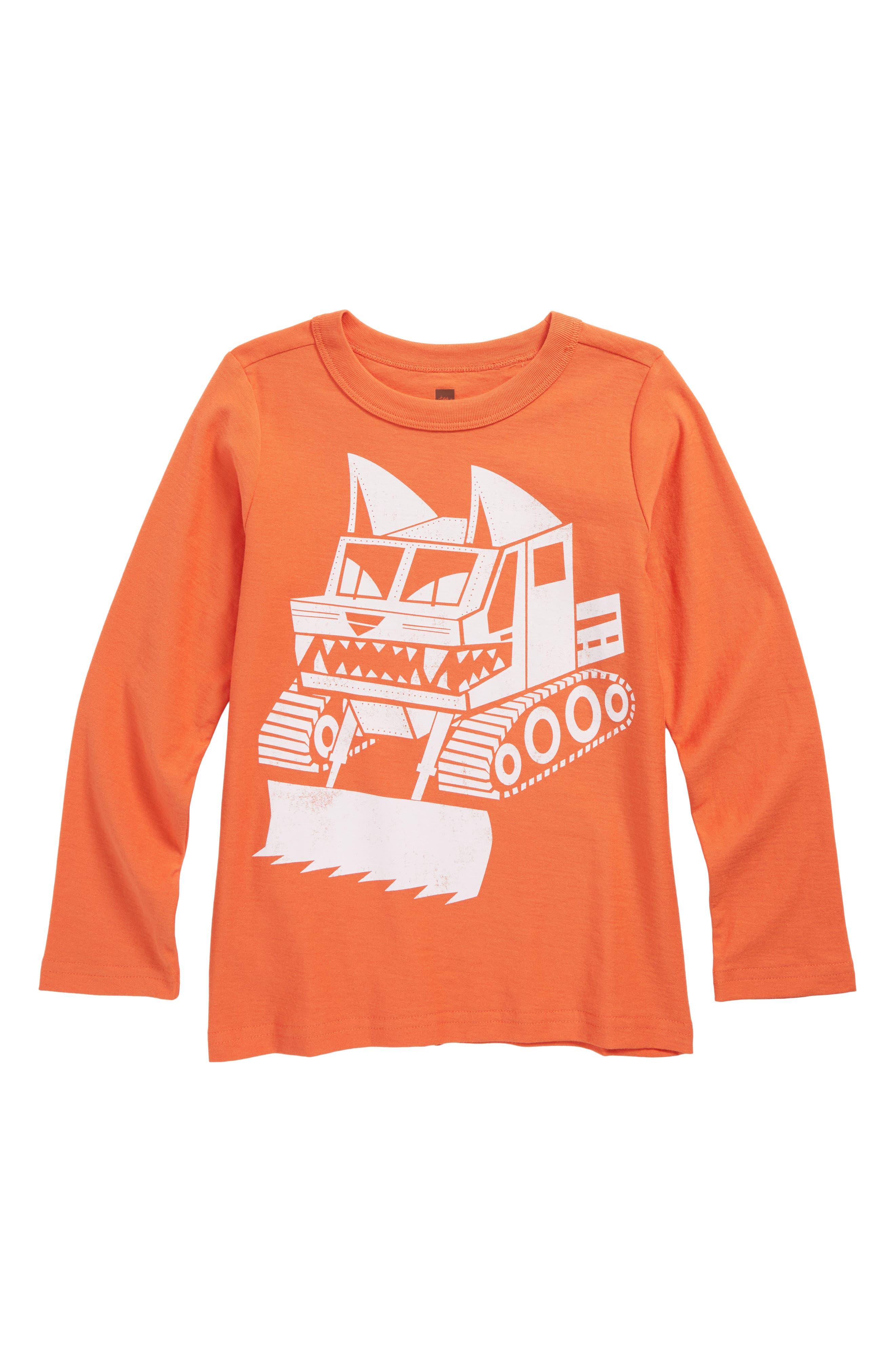 Tea Collection Snow Cat T-Shirt (Toddler Boys & Little Boys)