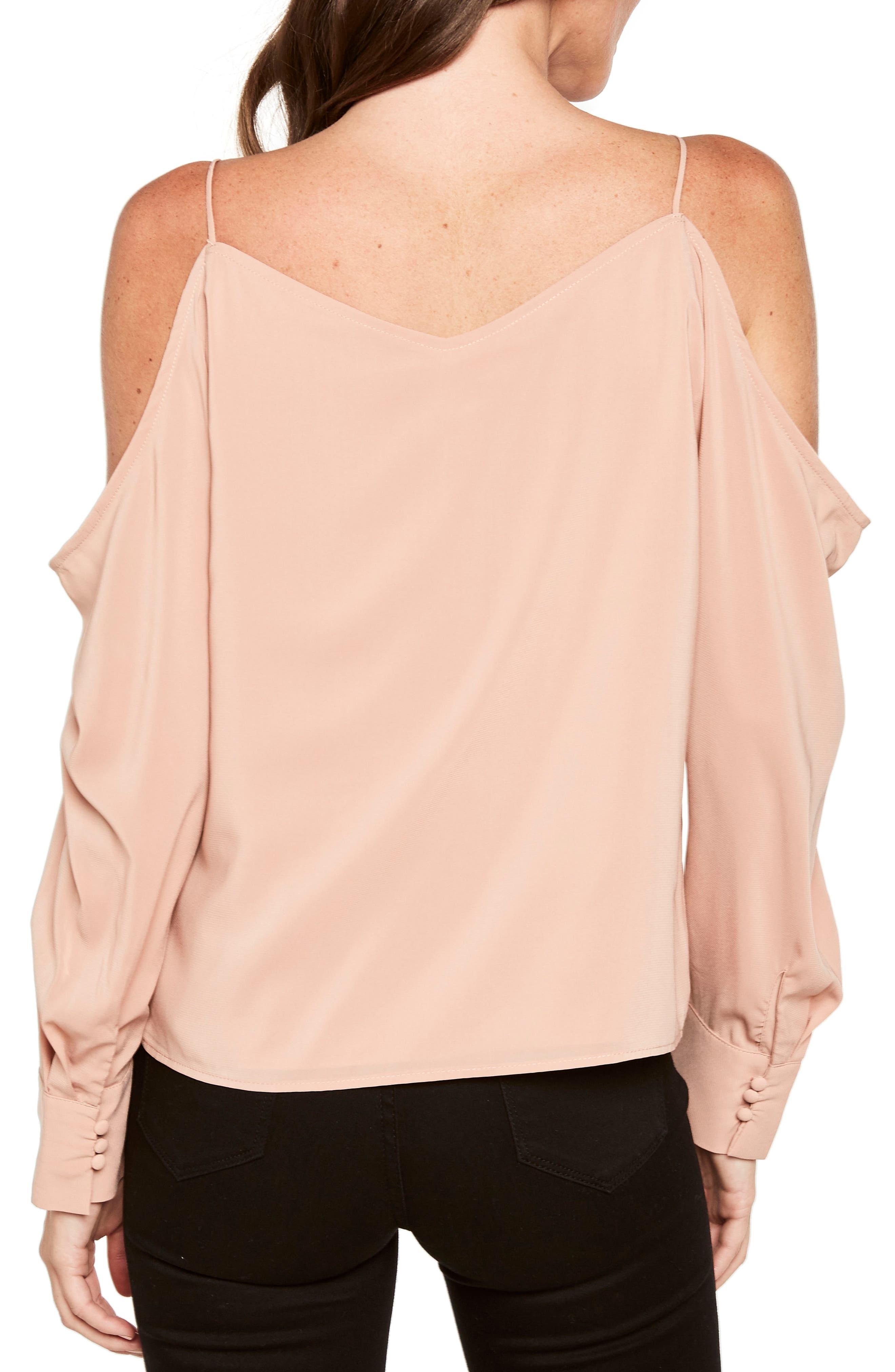 Alternate Image 3  - Bardot Cold Shoulder Top
