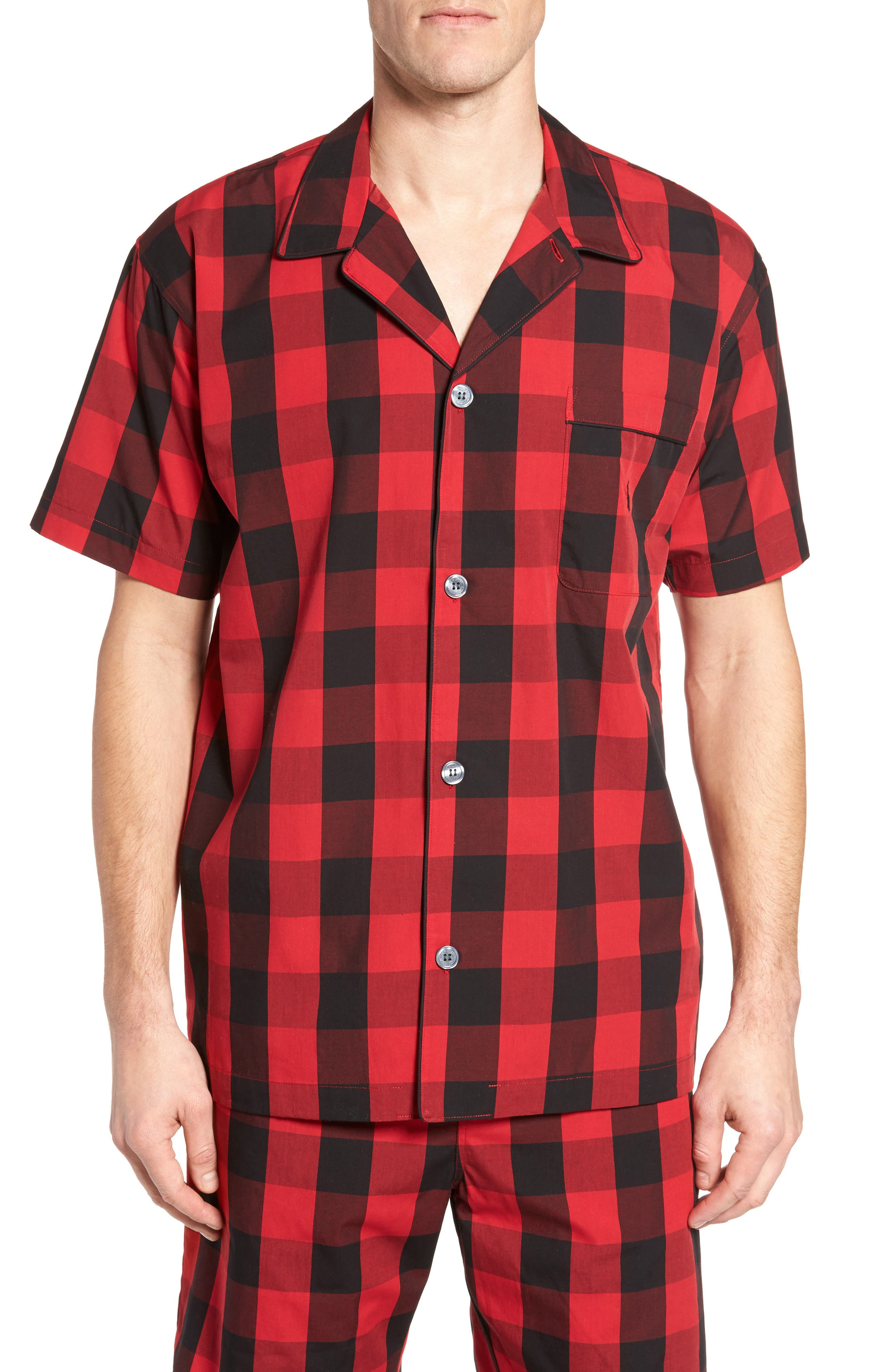 Main Image - Polo Ralph Lauren Cotton Pajama Shirt