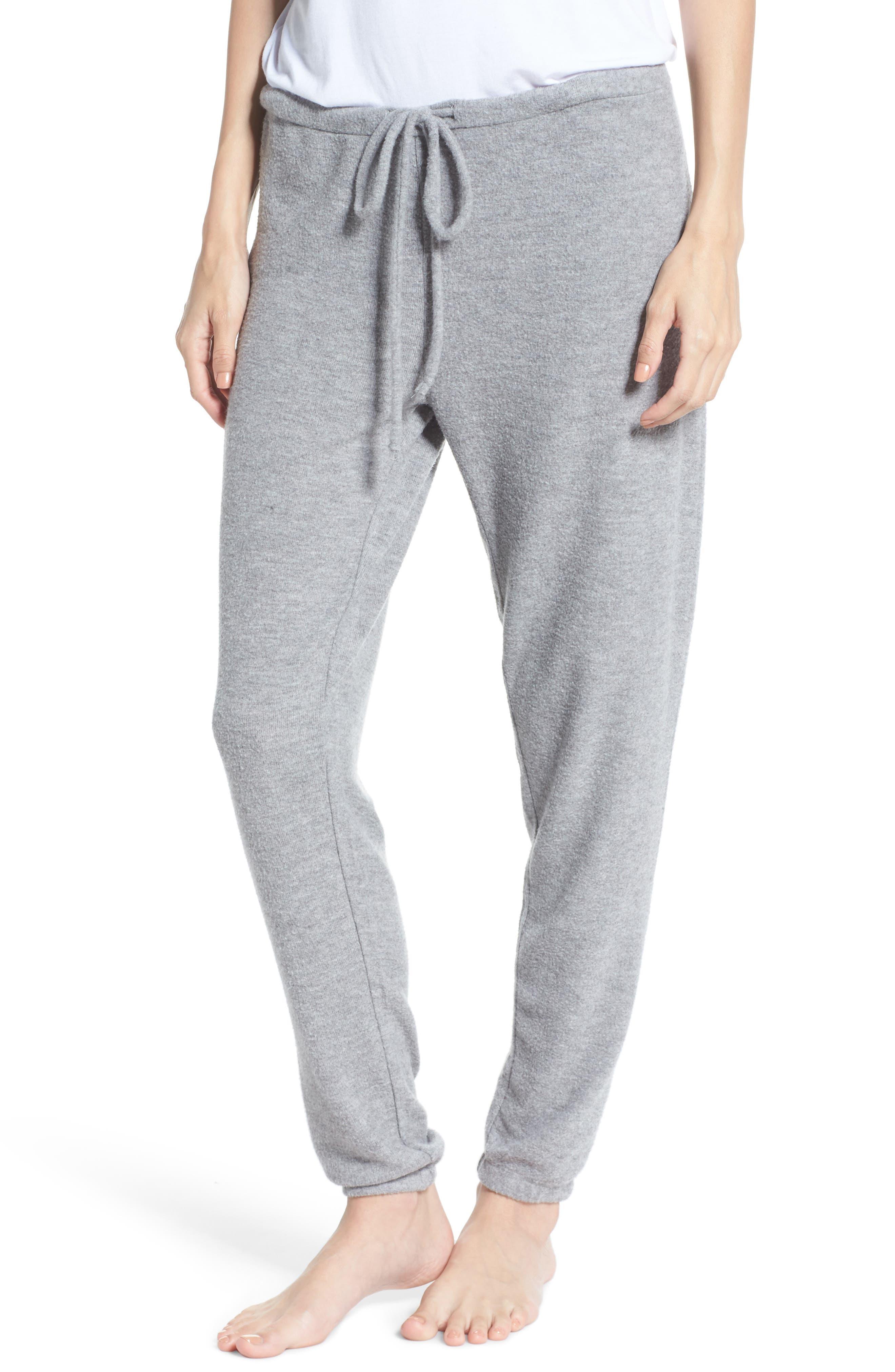 Slim Lounge Jogger Pants,                         Main,                         color, Heather Grey