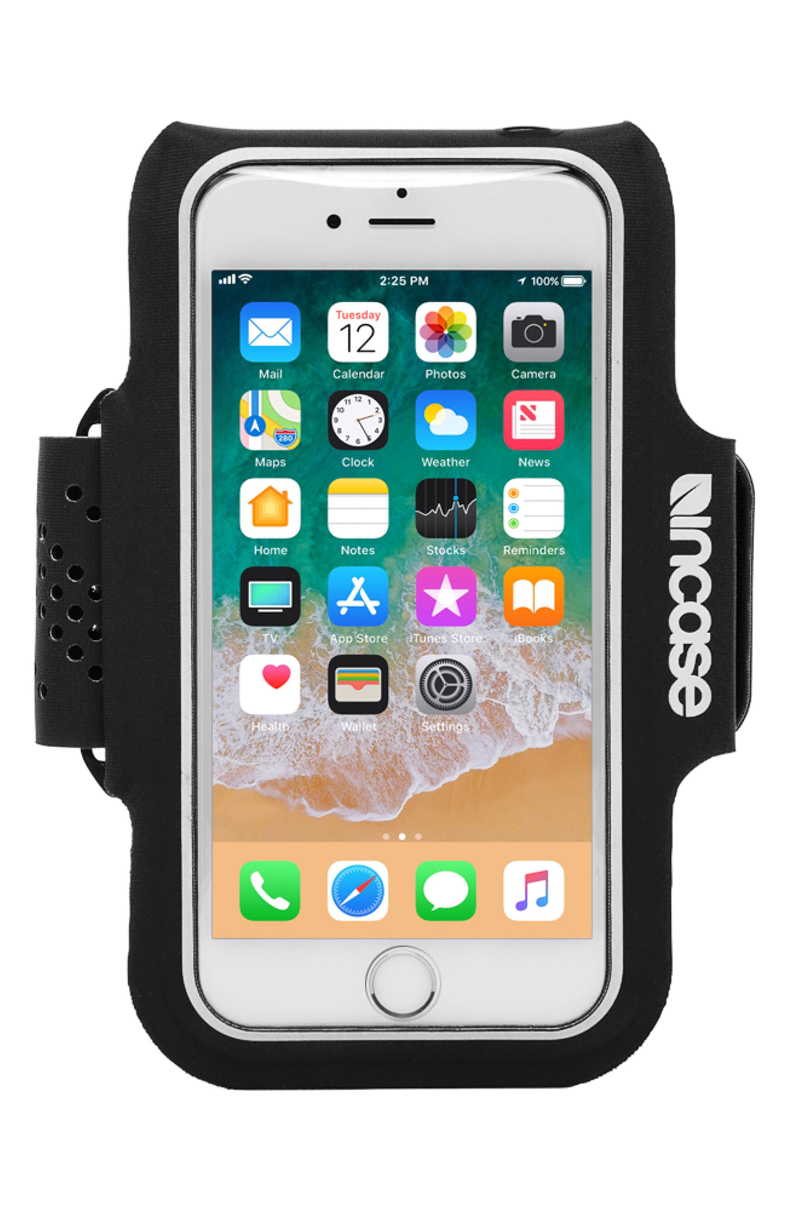 Pro iPhone 7/8 Armband,                         Main,                         color, Black