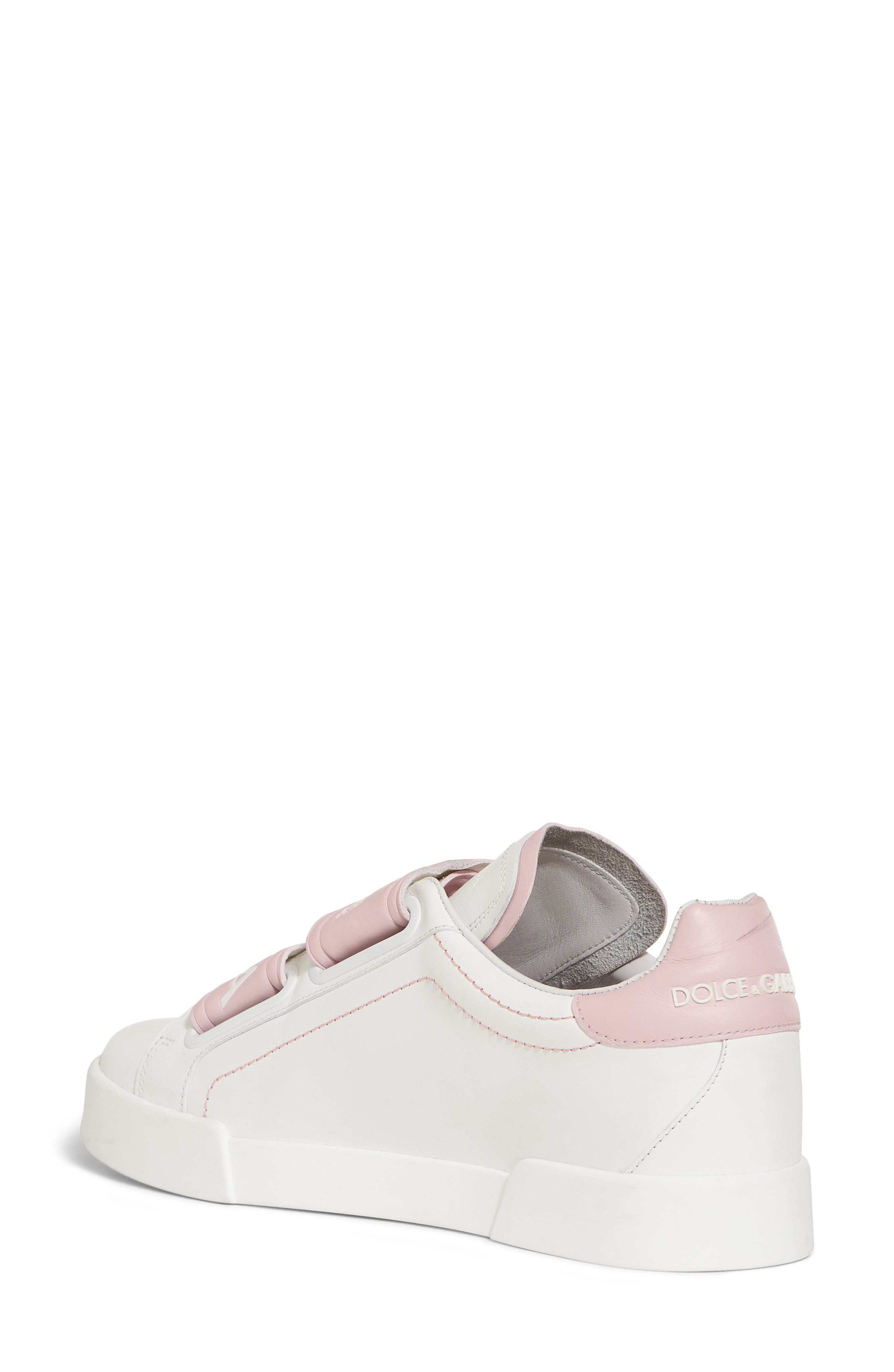 Alternate Image 2  - Dolce&Gabbana Logo Strap Sneaker (Women)