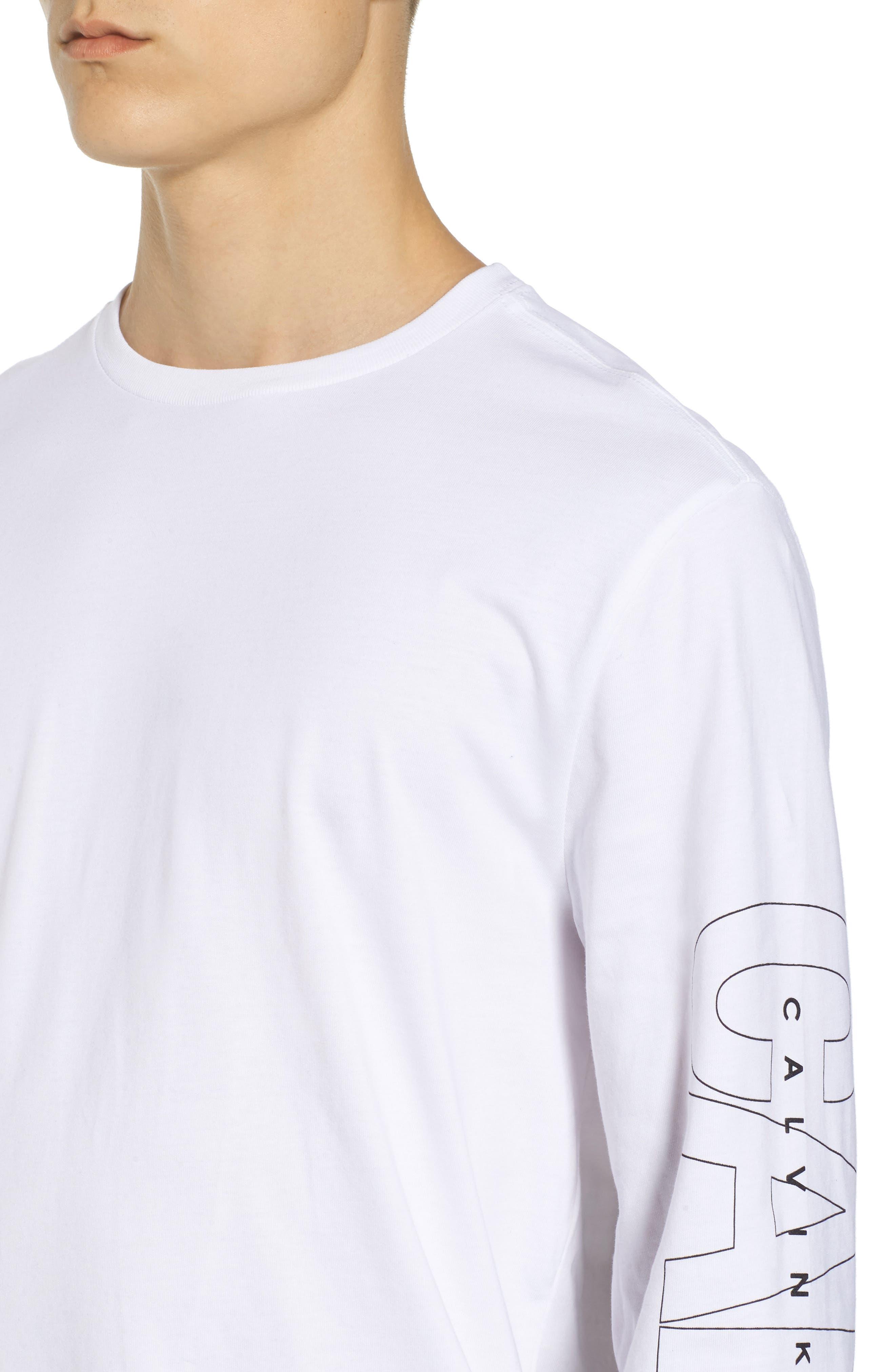 Alternate Image 4  - Calvin Klein Jeans Logo T-Shirt