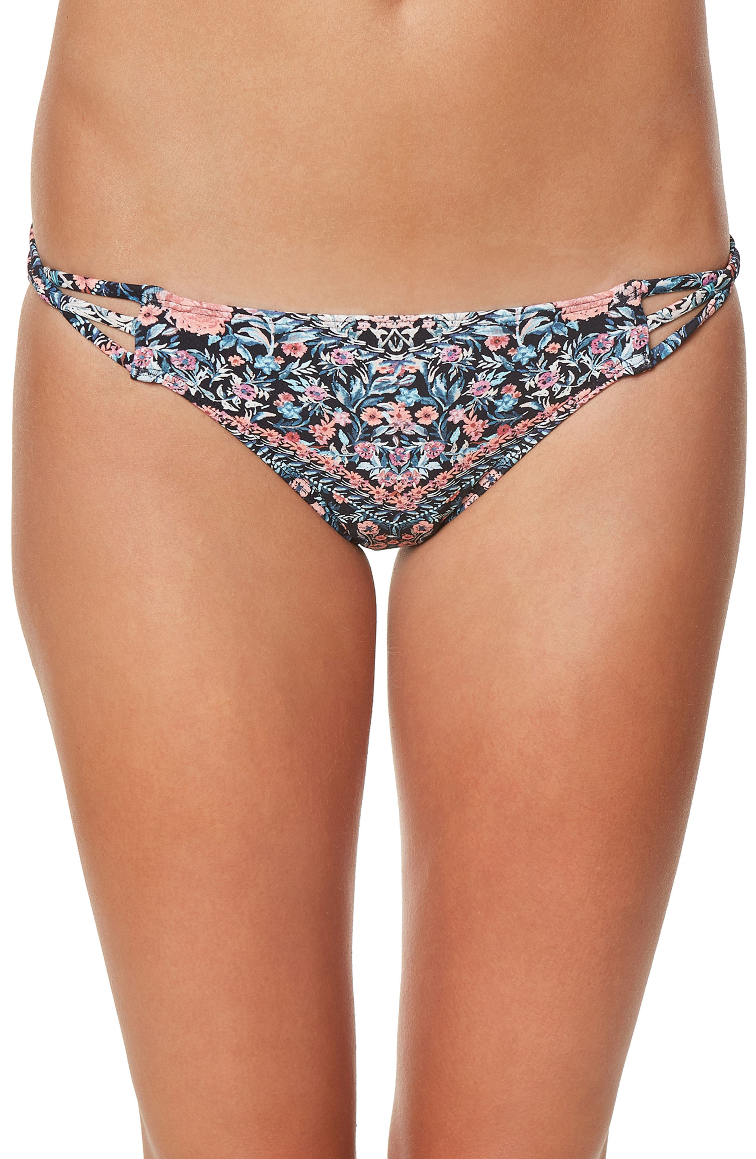 Alternate Image 1 Selected - O'Neill Porter Strappy Bikini Bottom