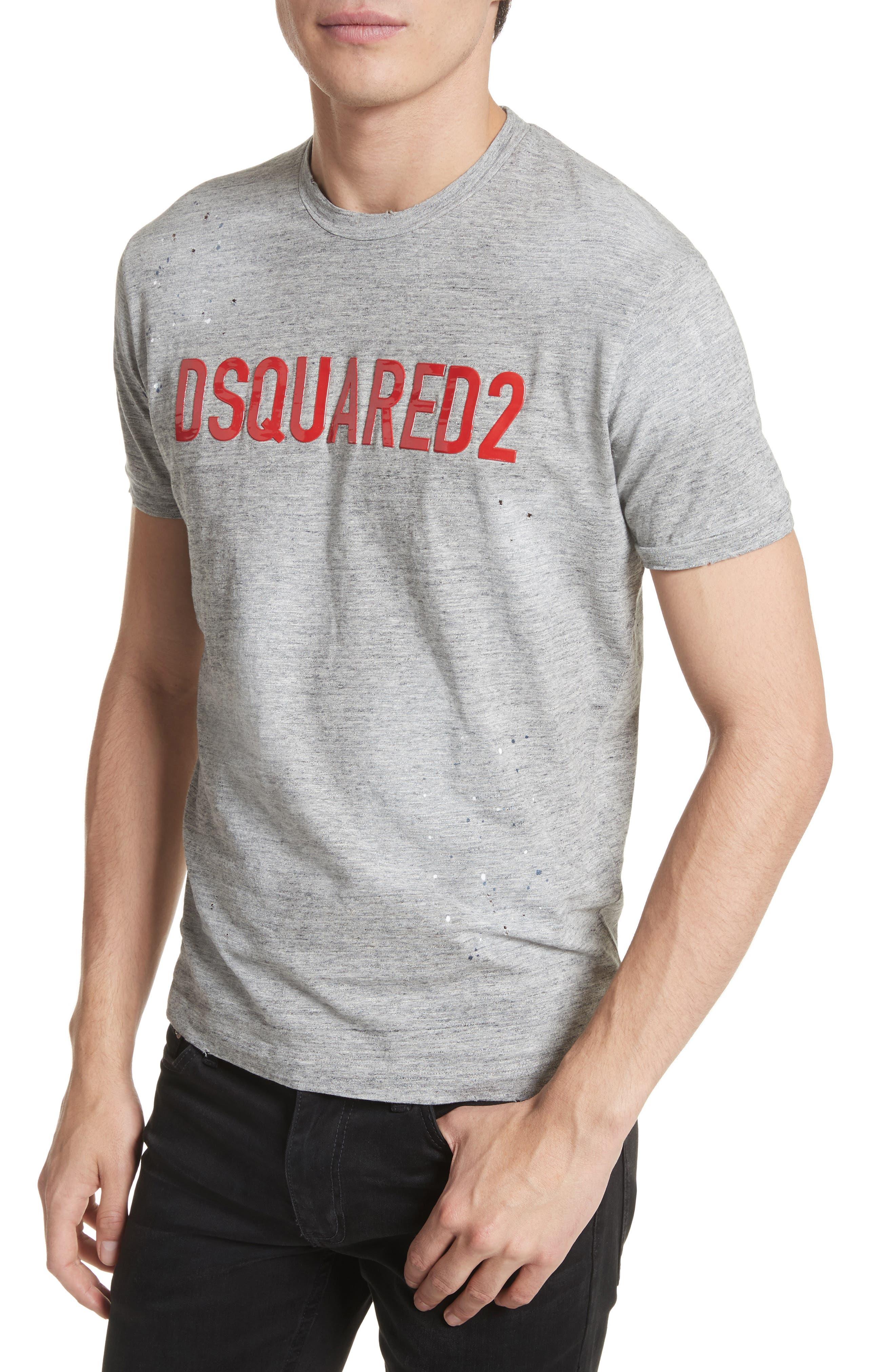 Alternate Image 4  - Dsquared2 Logo T-Shirt