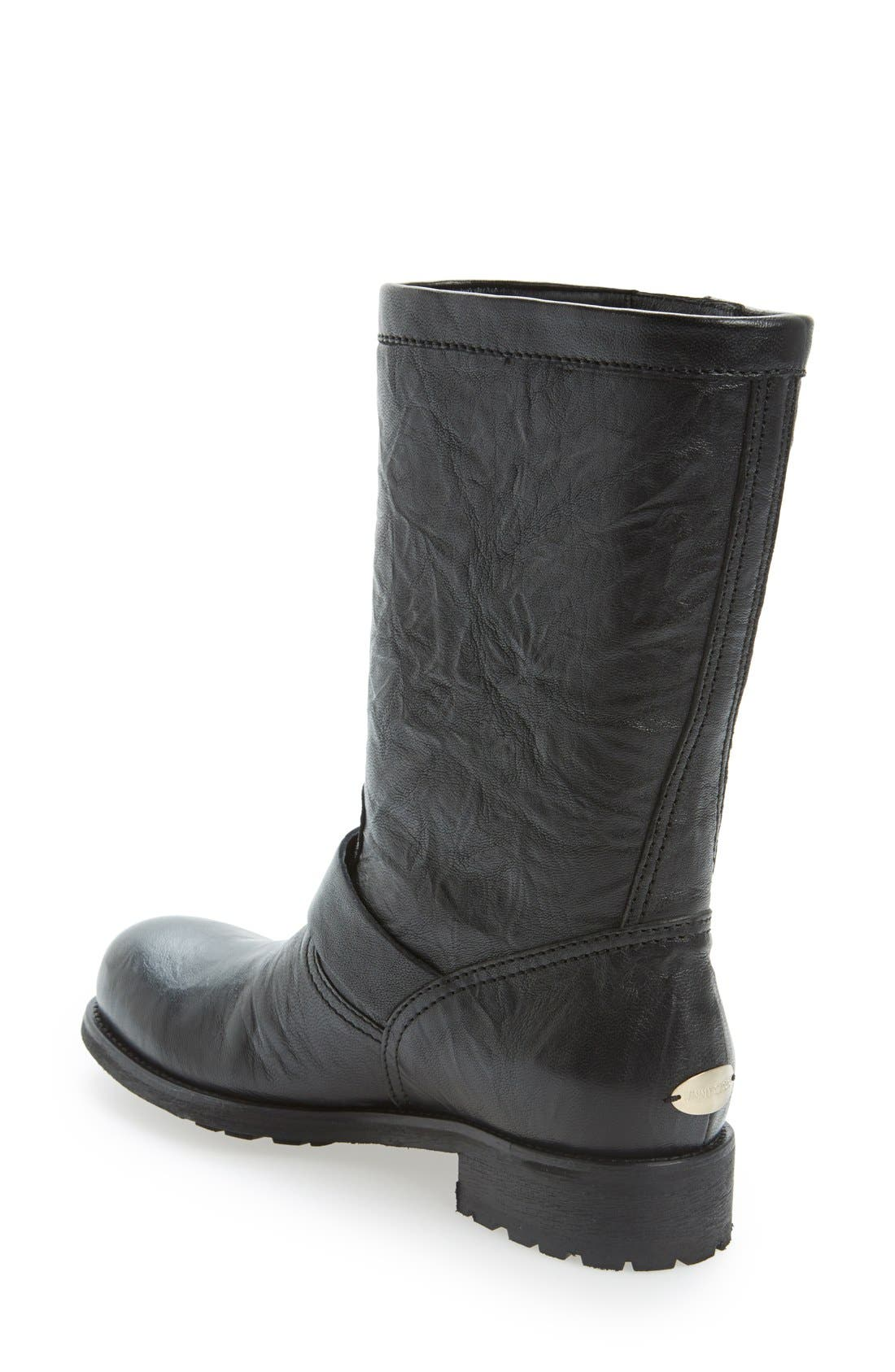 Alternate Image 2  - Jimmy Choo Motorcycle Boot