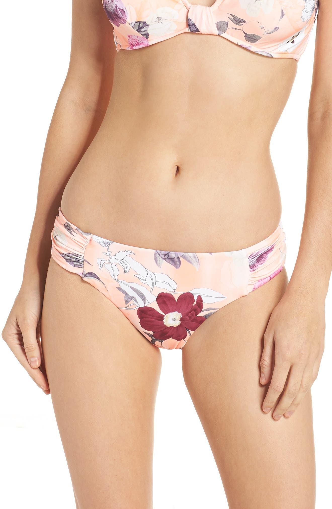 Main Image - Seafolly Modern Love Bikini Bottoms
