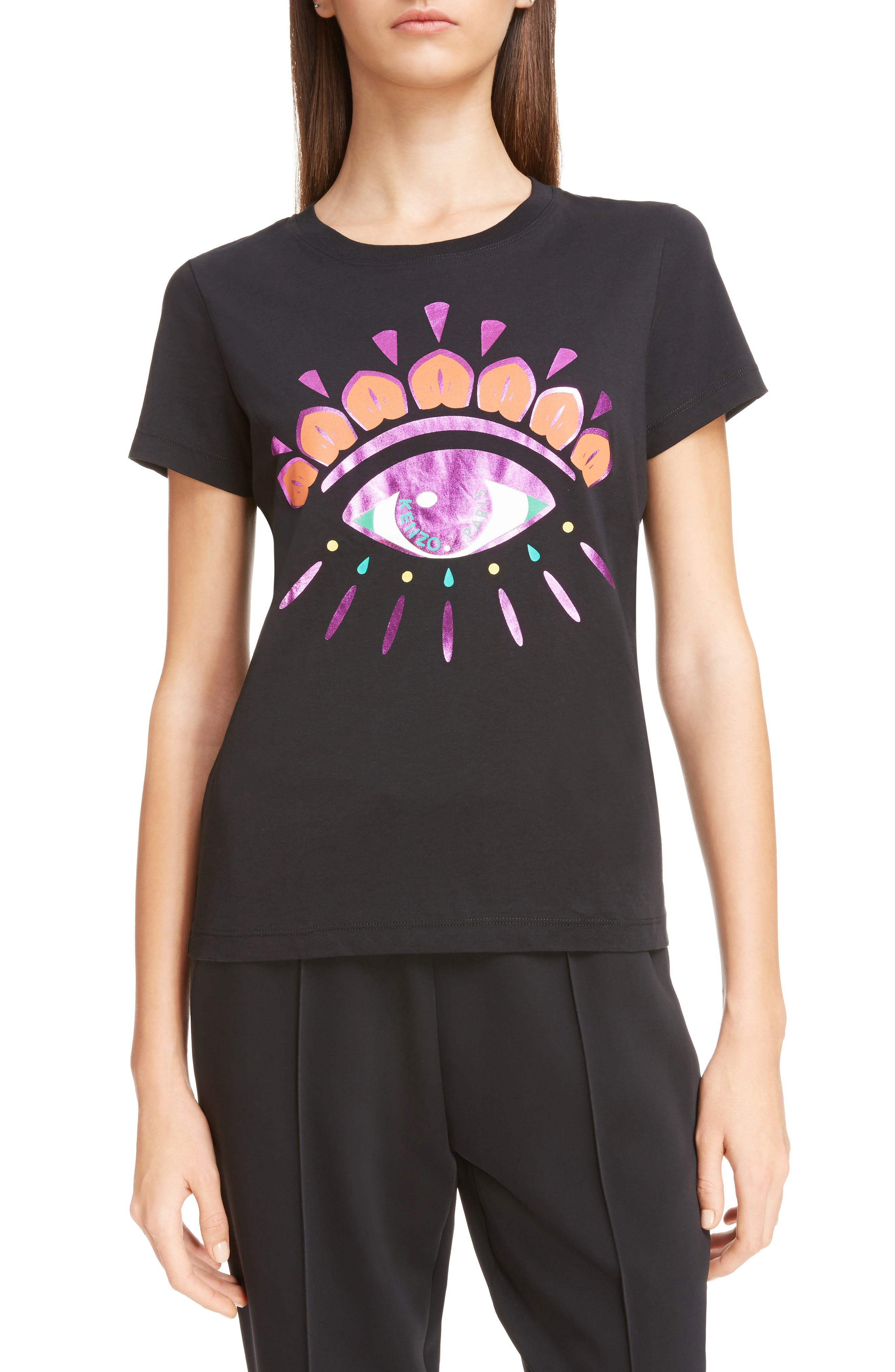 KENZO Classic Fit Graphic Tee