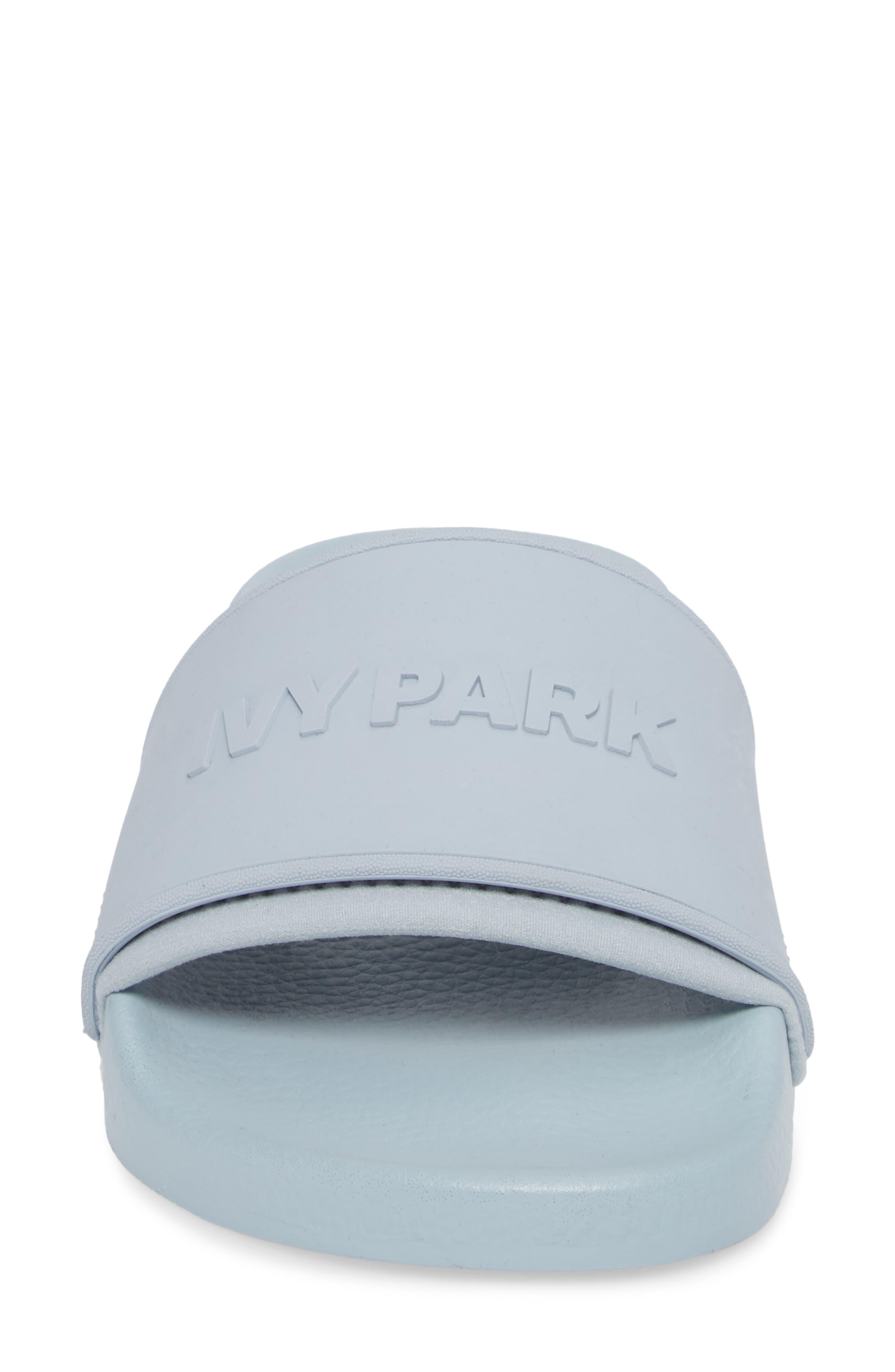 Alternate Image 4  - IVY PARK® Embossed Neoprene Lined Slide Sandal (Women)