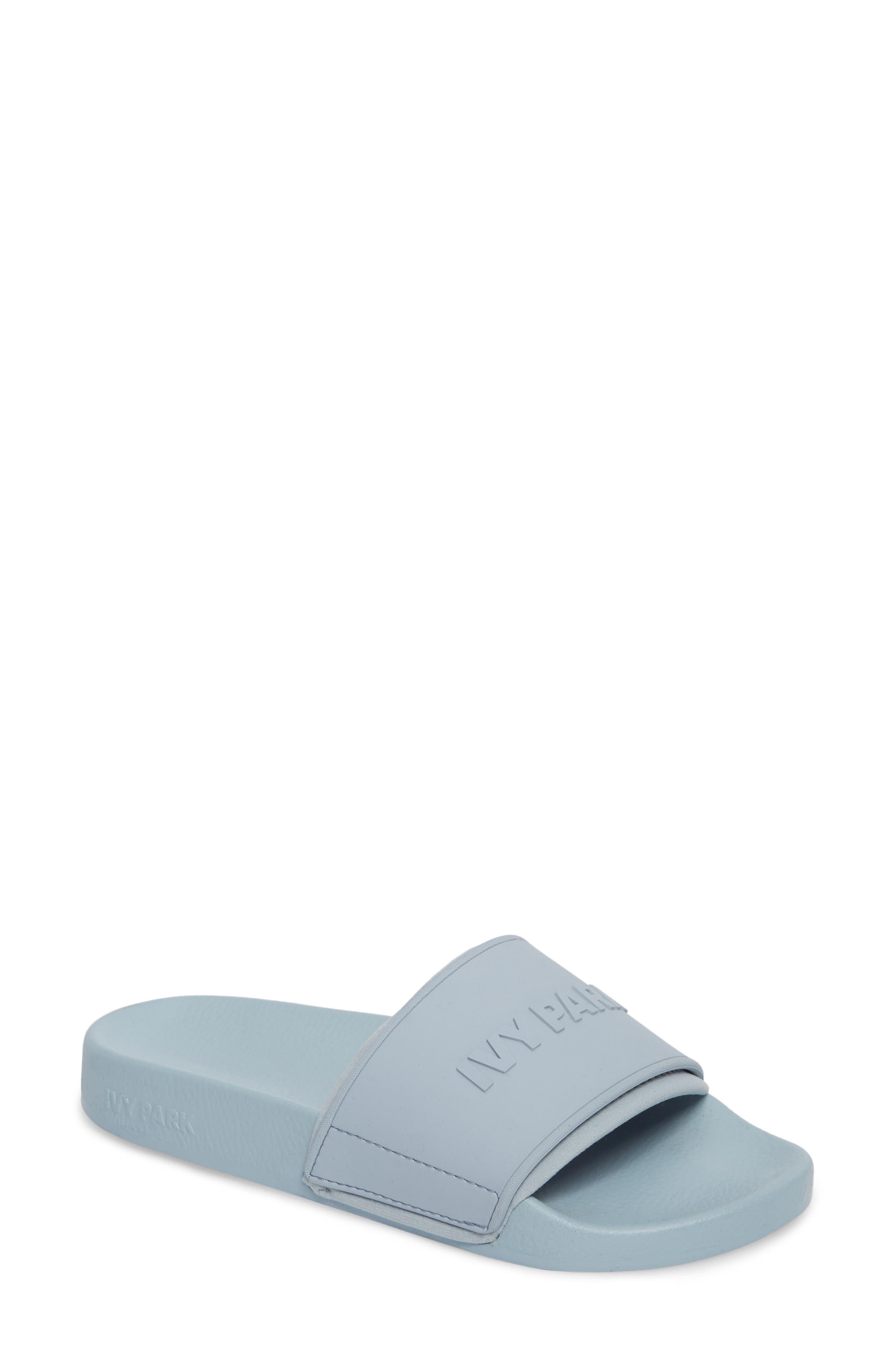 Main Image - IVY PARK® Embossed Neoprene Lined Slide Sandal (Women)