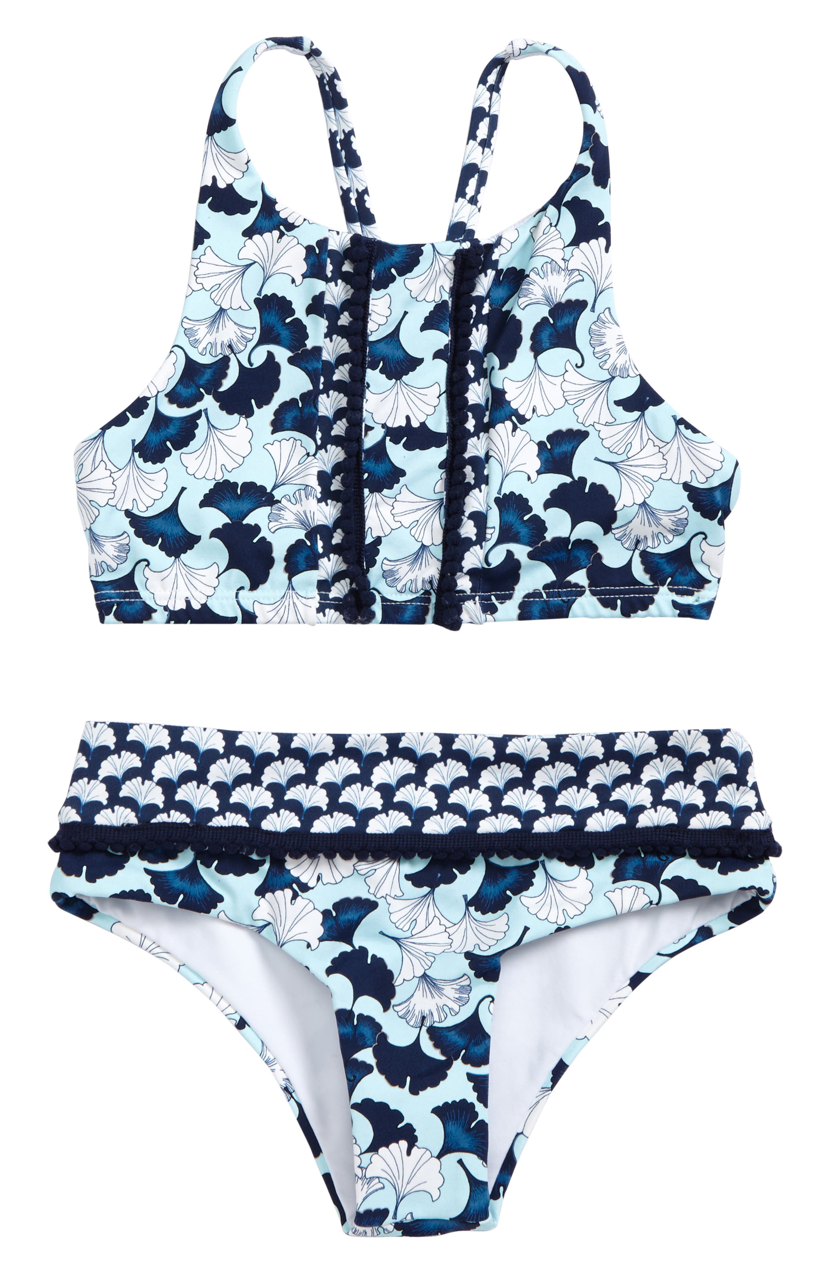 Lotto Two-Piece Swimsuit,                             Main thumbnail 1, color,                             Lotto