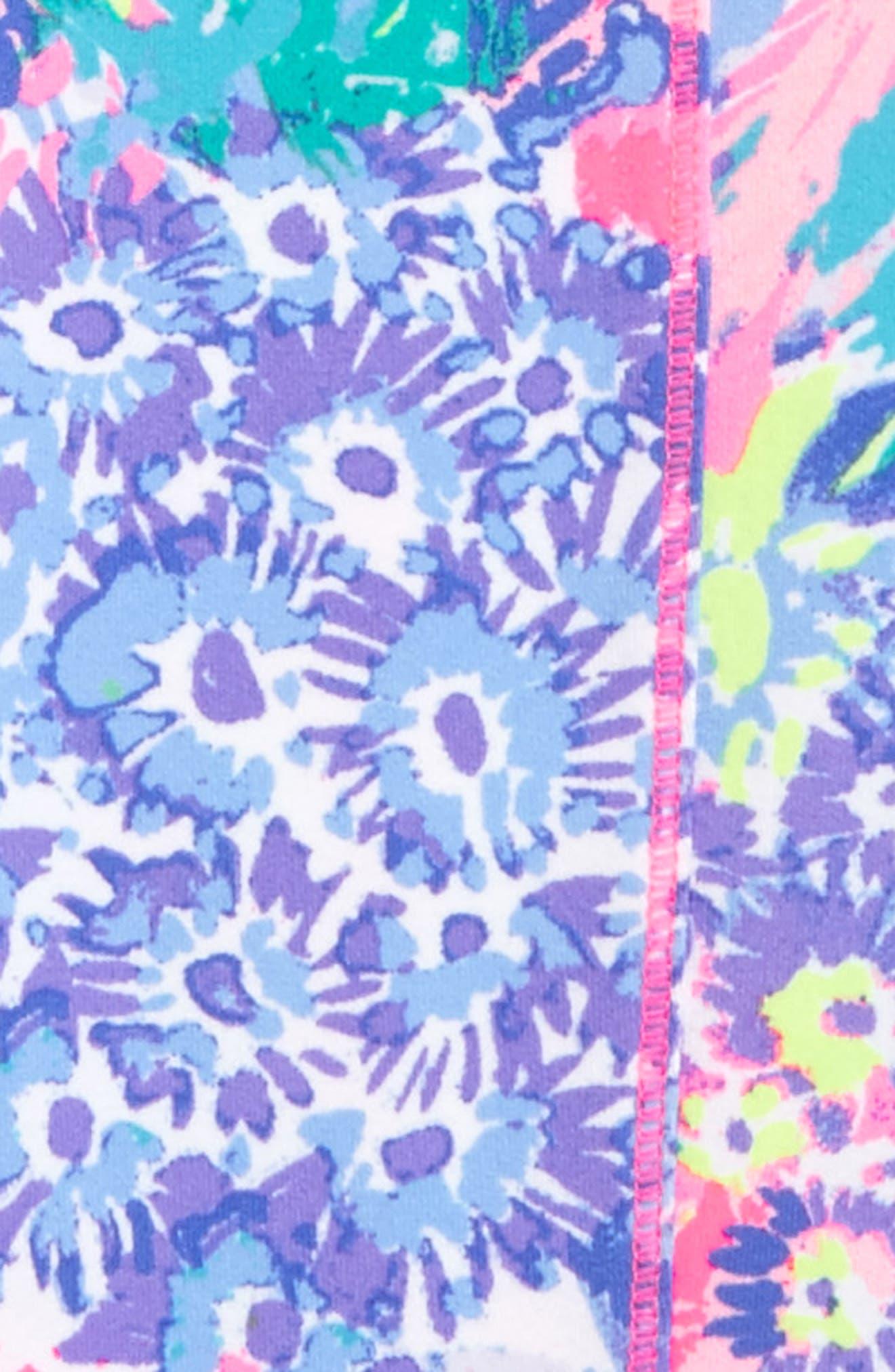 Alternate Image 2  - Lilly Pulitzer® UPF 50+ Print Leggings (Toddler Girls, Little Girls & Big Girls)