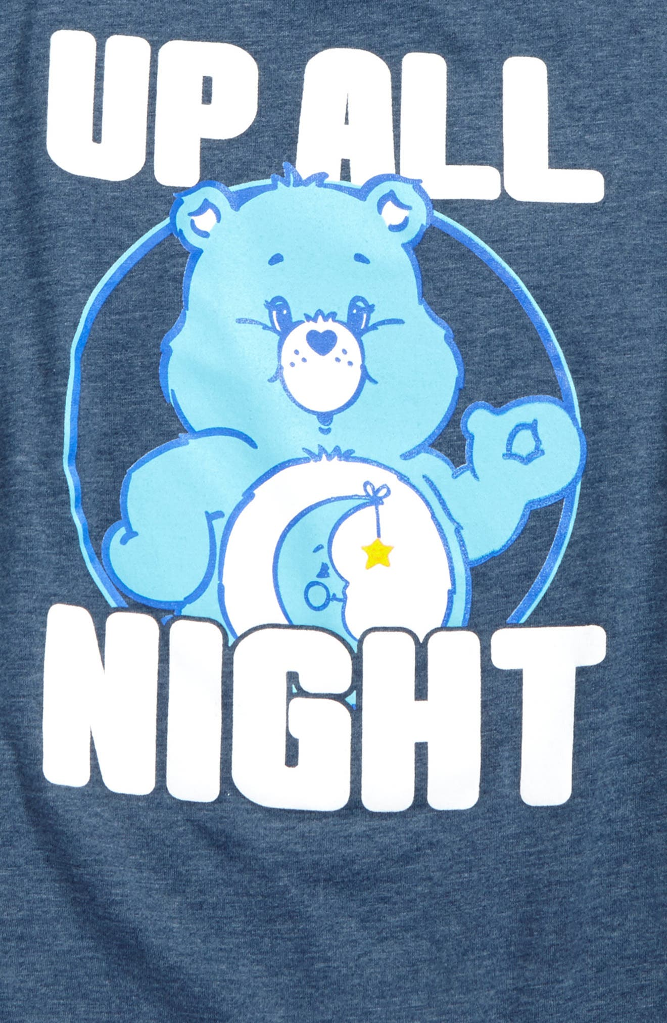Care Bears<sup>™</sup> Up All Night T-Shirt,                             Alternate thumbnail 2, color,                             Blue