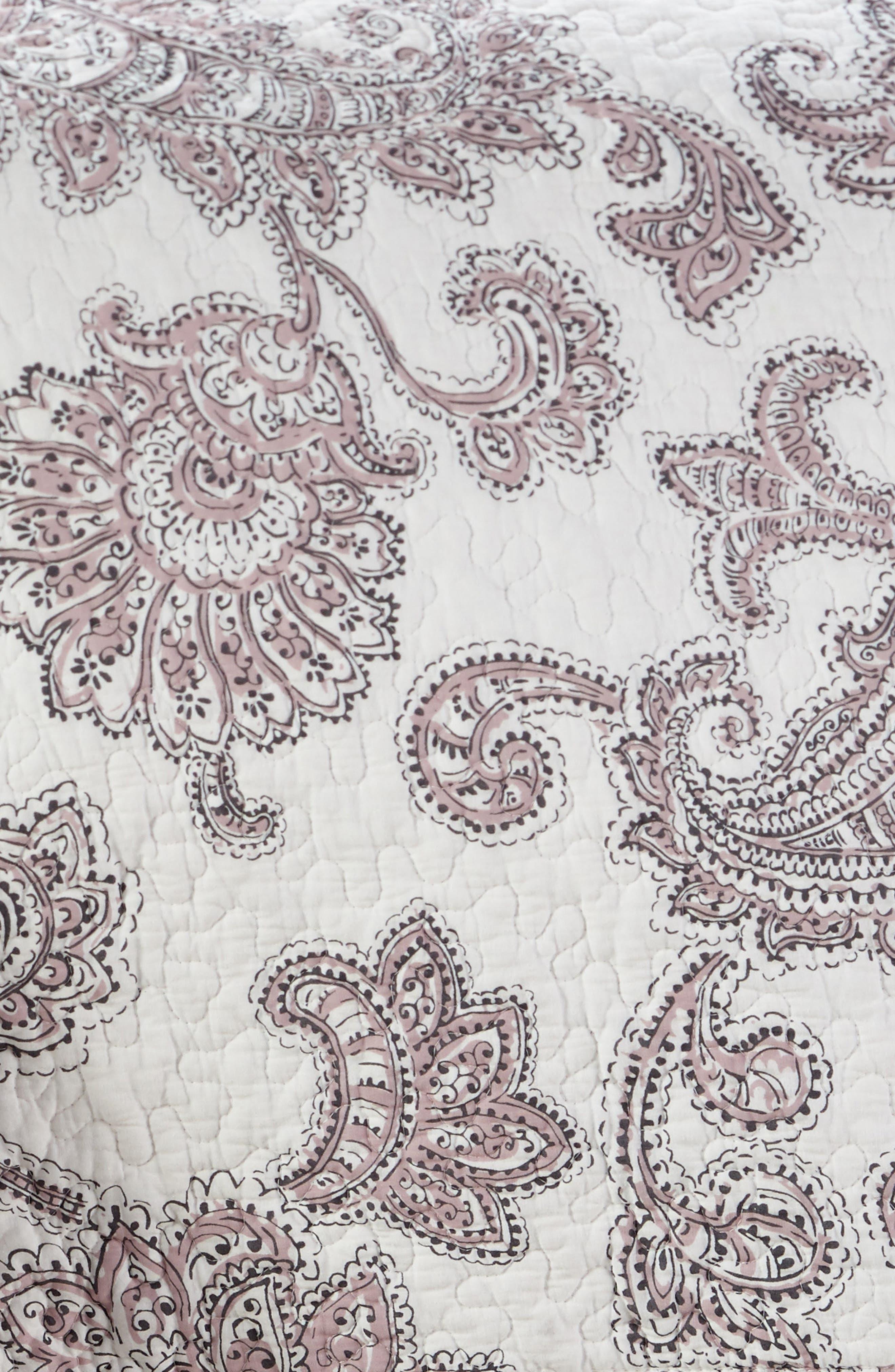 Parma Reversible Quilt,                             Alternate thumbnail 4, color,                             Lavender