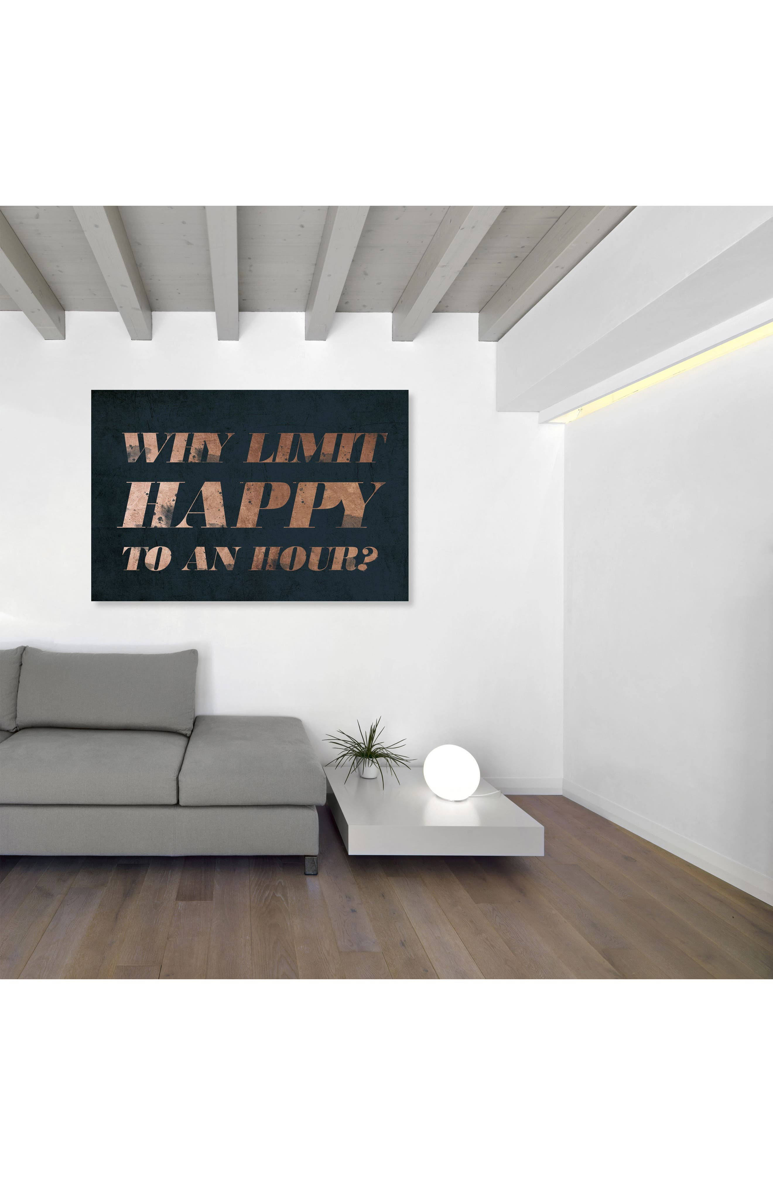 Happy Hour Canvas Wall Art,                             Alternate thumbnail 2, color,                             Blue