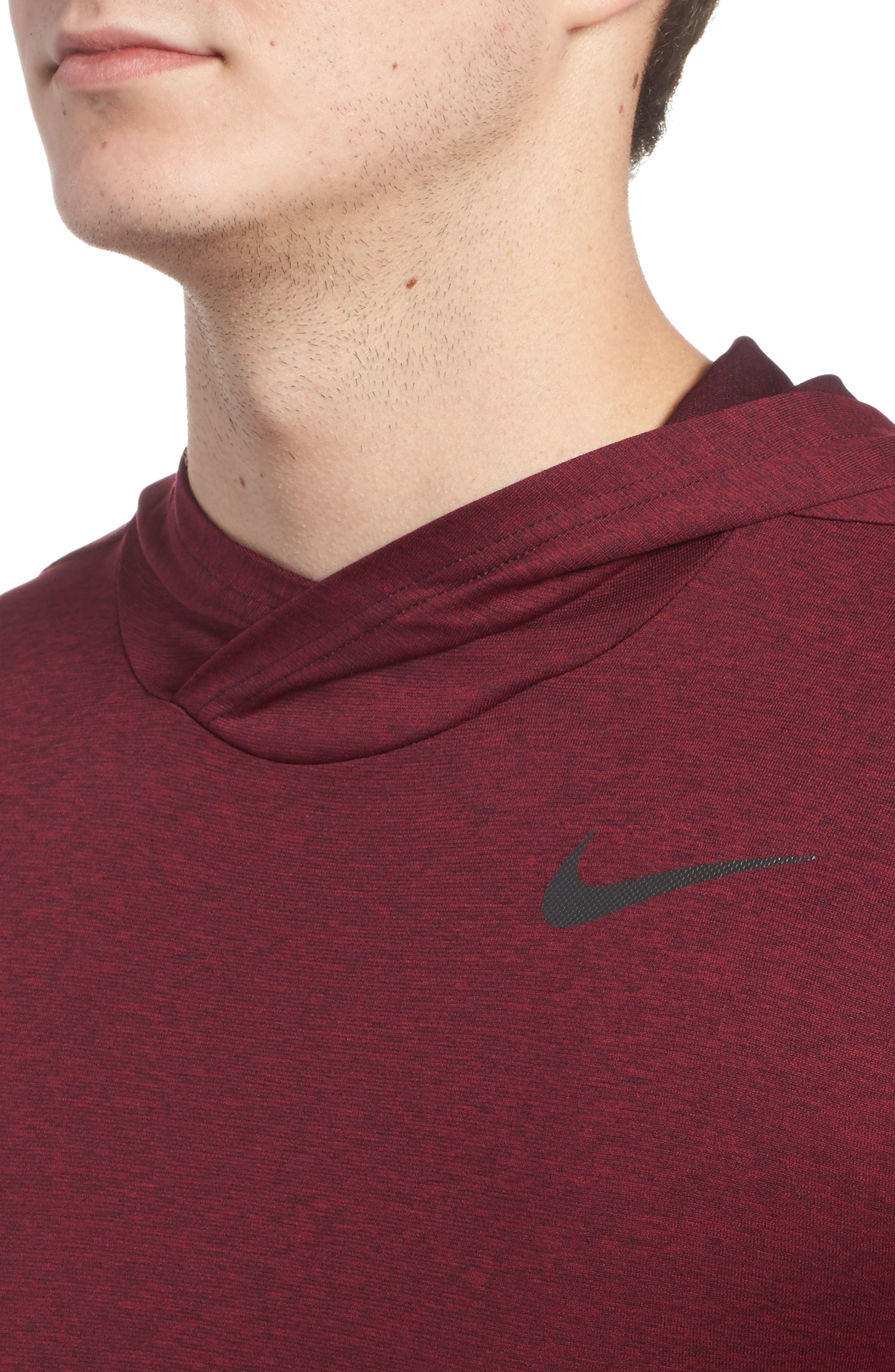 Alternate Image 4  - Nike Hyper Dry Regular Fit Training Hoodie