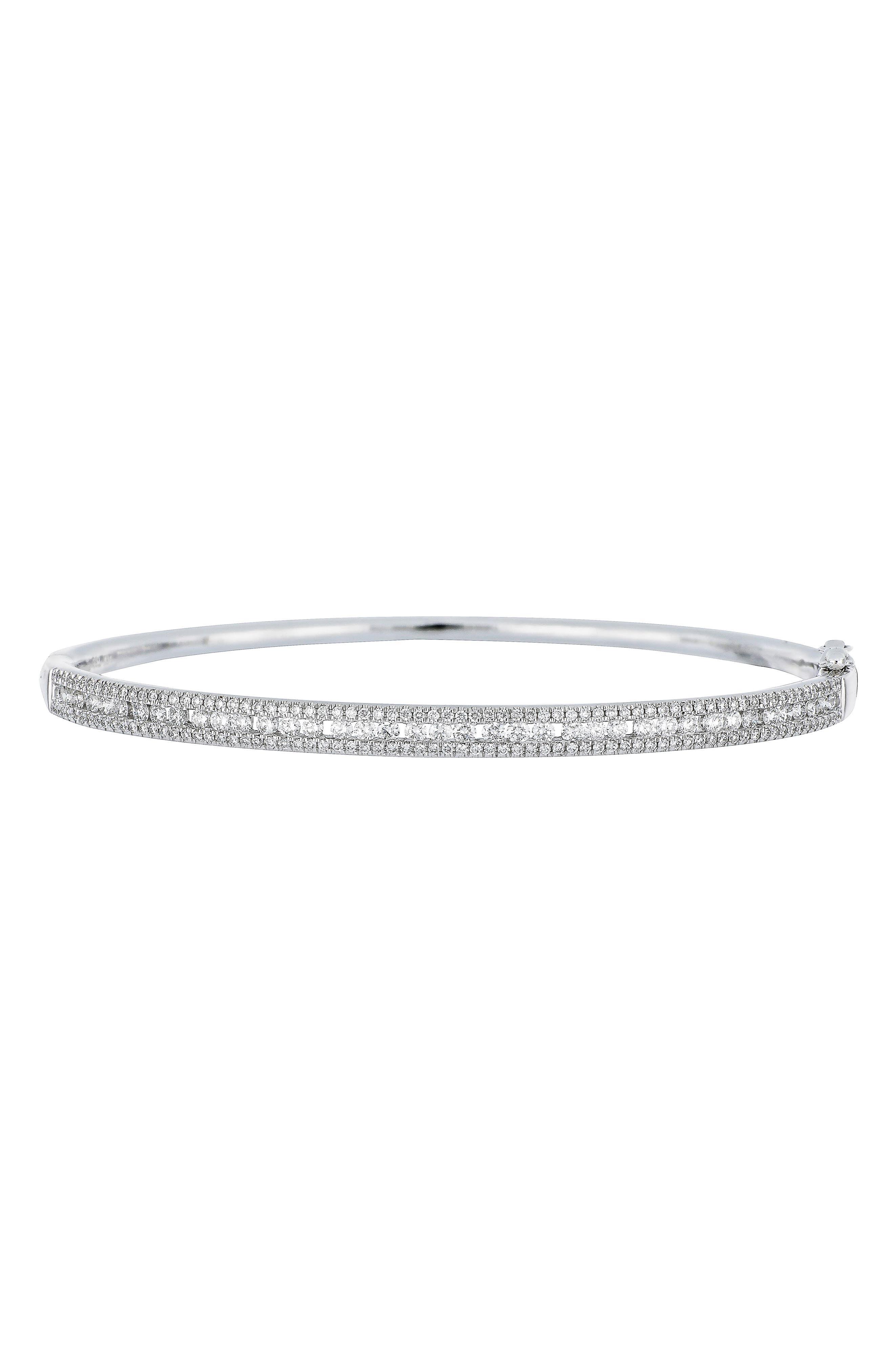 Alternate Image 1 Selected - Bony Levy Amara Diamond Bangle (Nordstrom Exclusive)