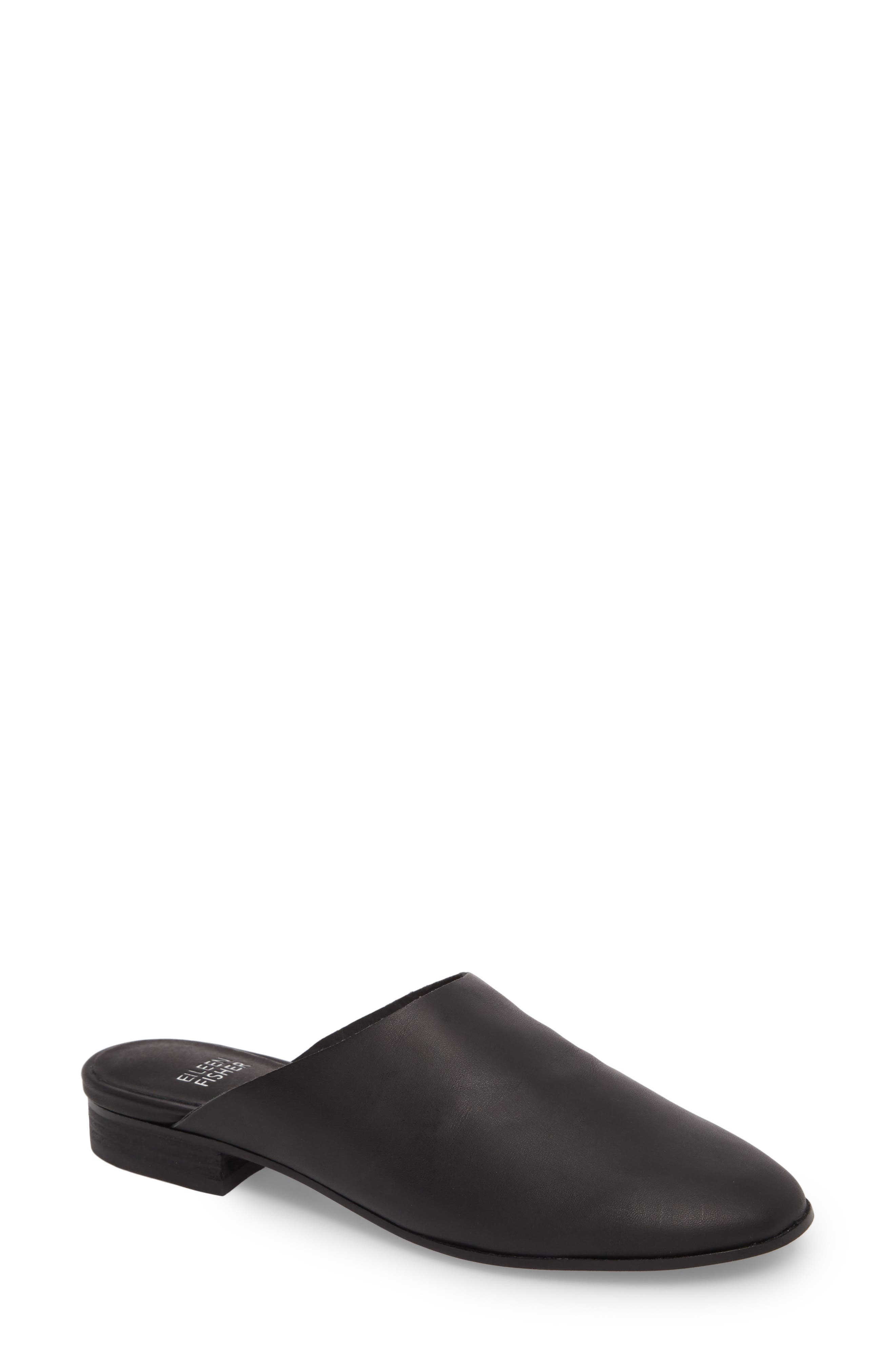 Alternate Image 1 Selected - Eileen Fisher Gwen Mule (Women)