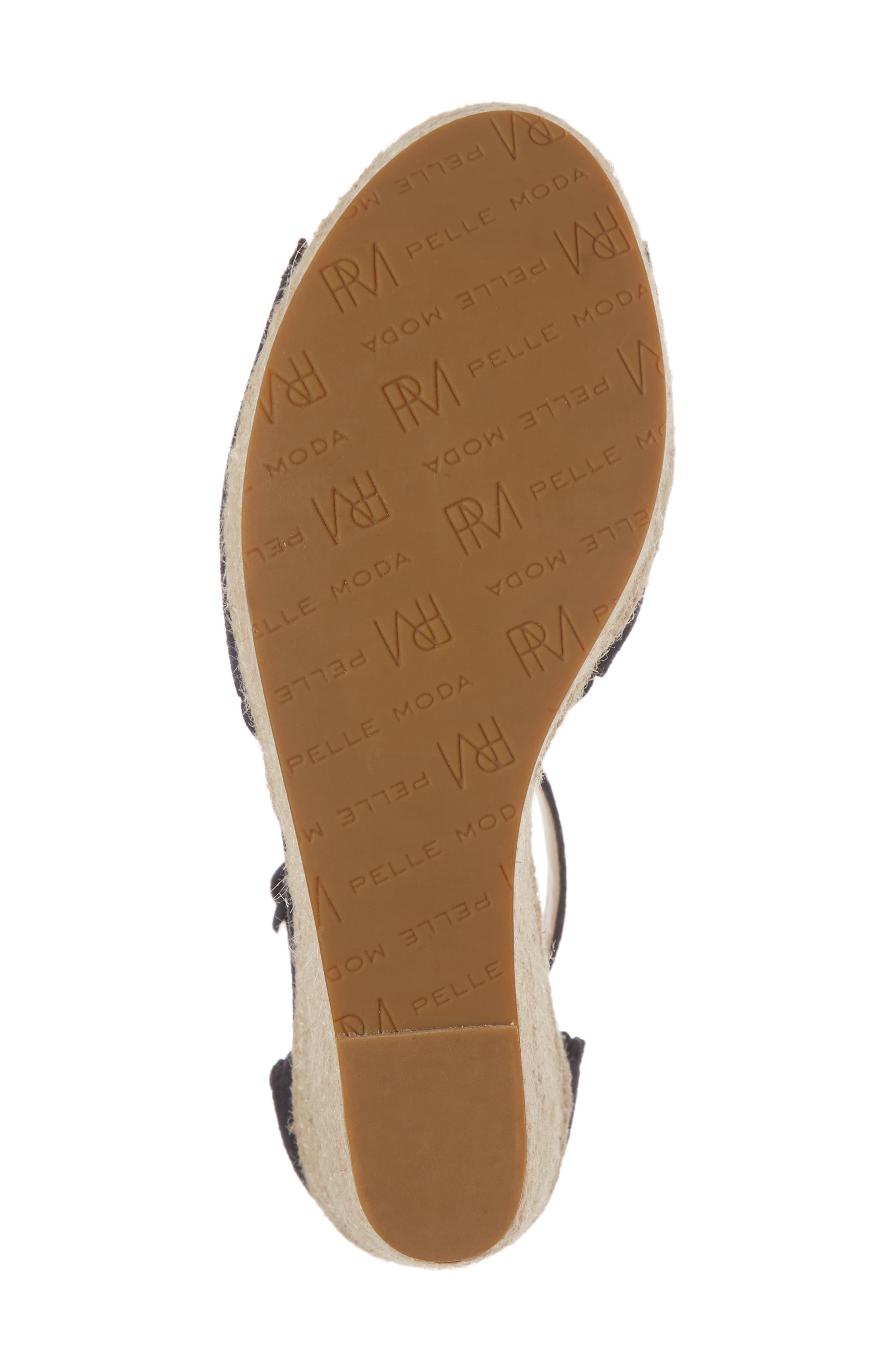 Alternate Image 6  - Pelle Moda Raine Platform Espadrille Sandal (Women)