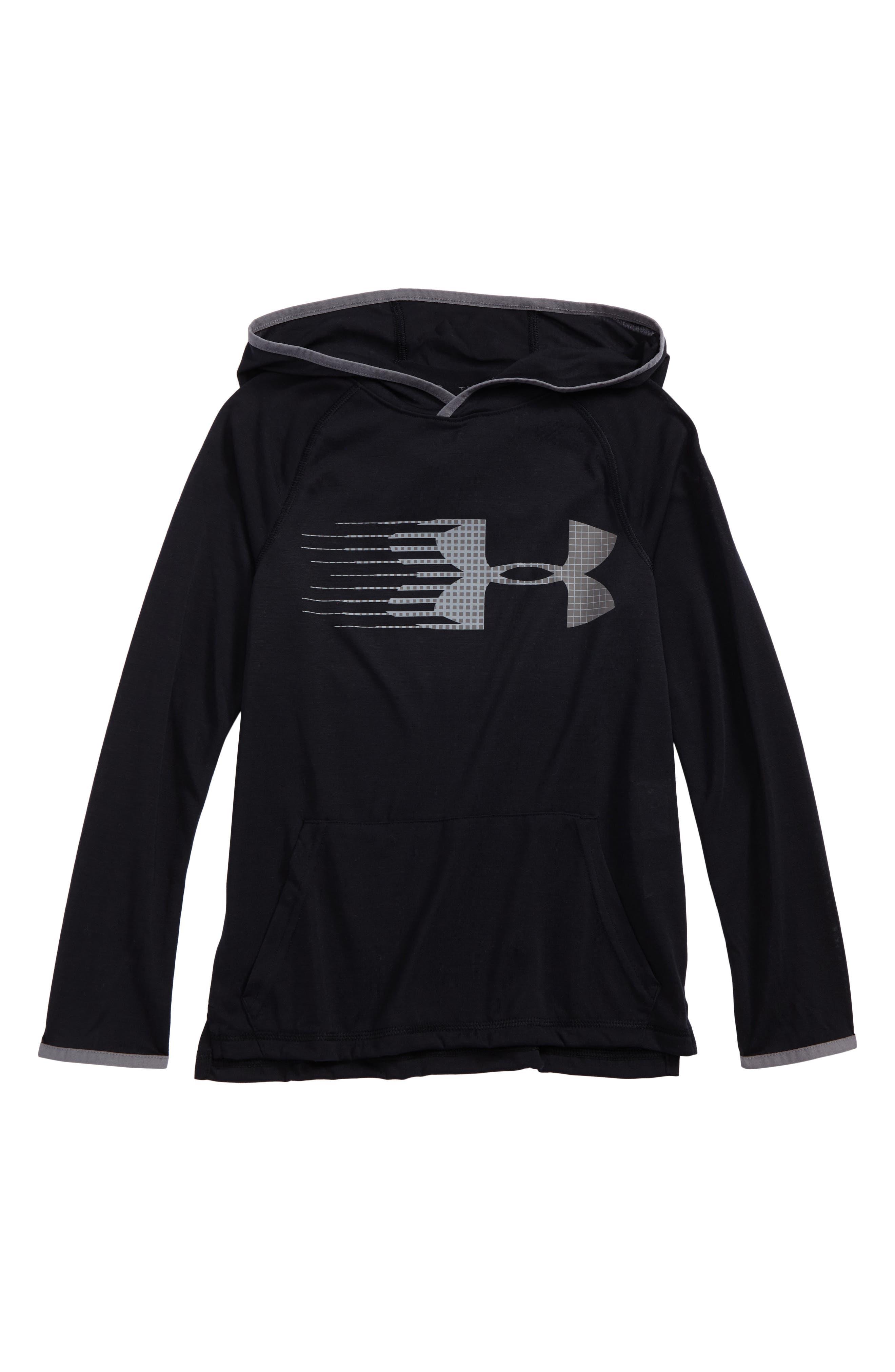 Under Armour Threadborne HeatGear® Pullover Hoodie (Big Boys)