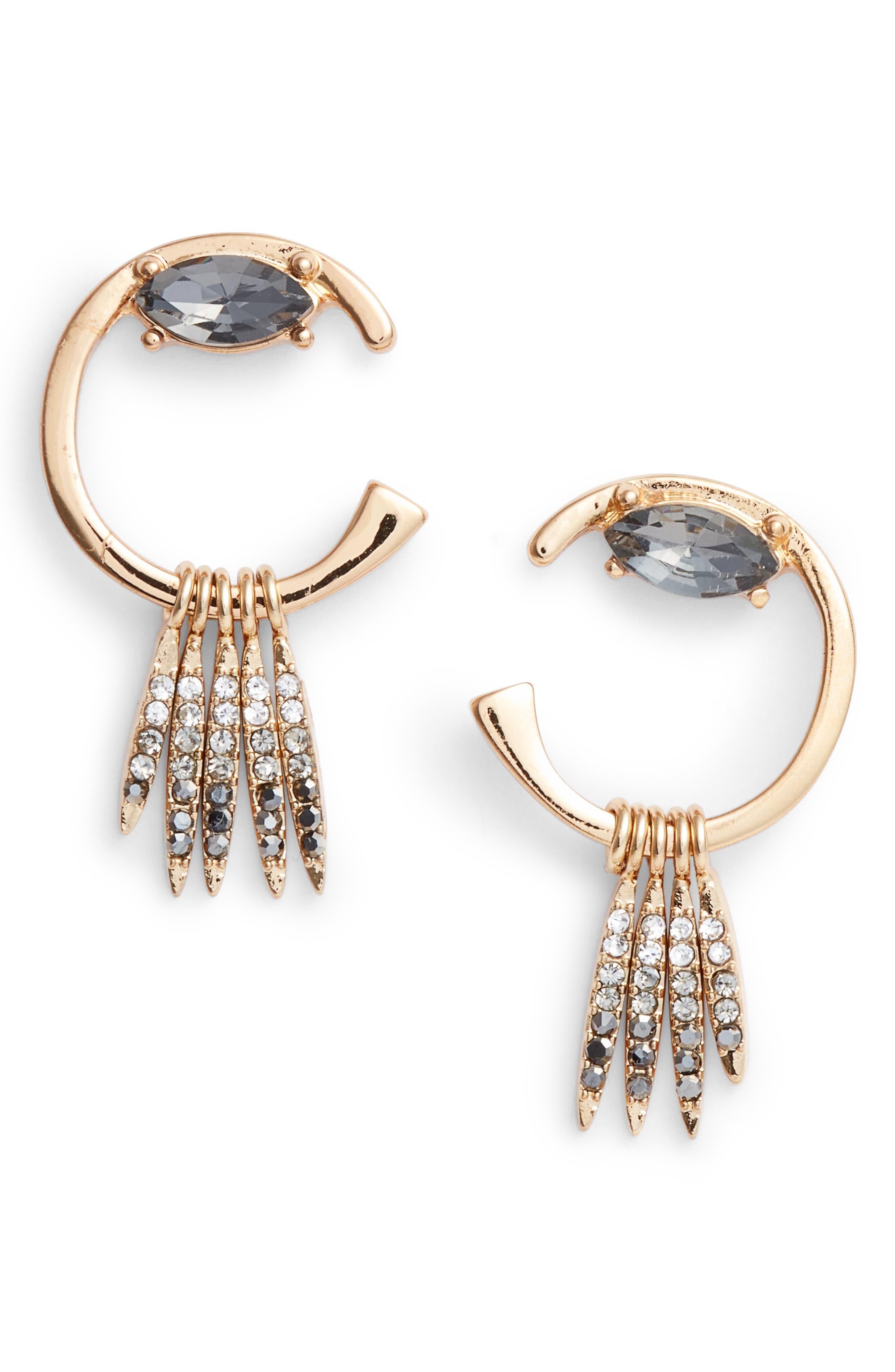 Rebecca Minkoff Peyton Deco Earrings