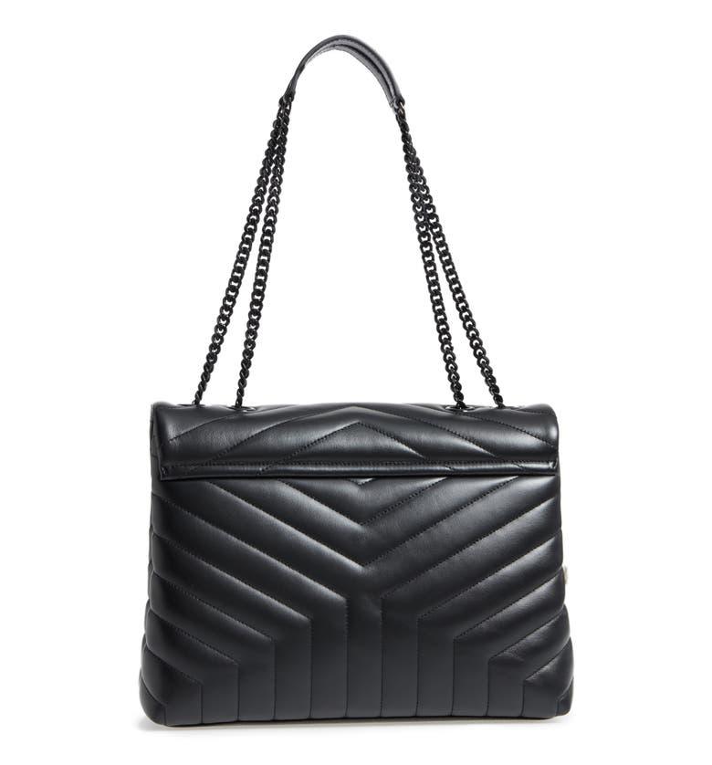 Saint Laurent Loulou Monogram Ysl Medium Chain Bag With