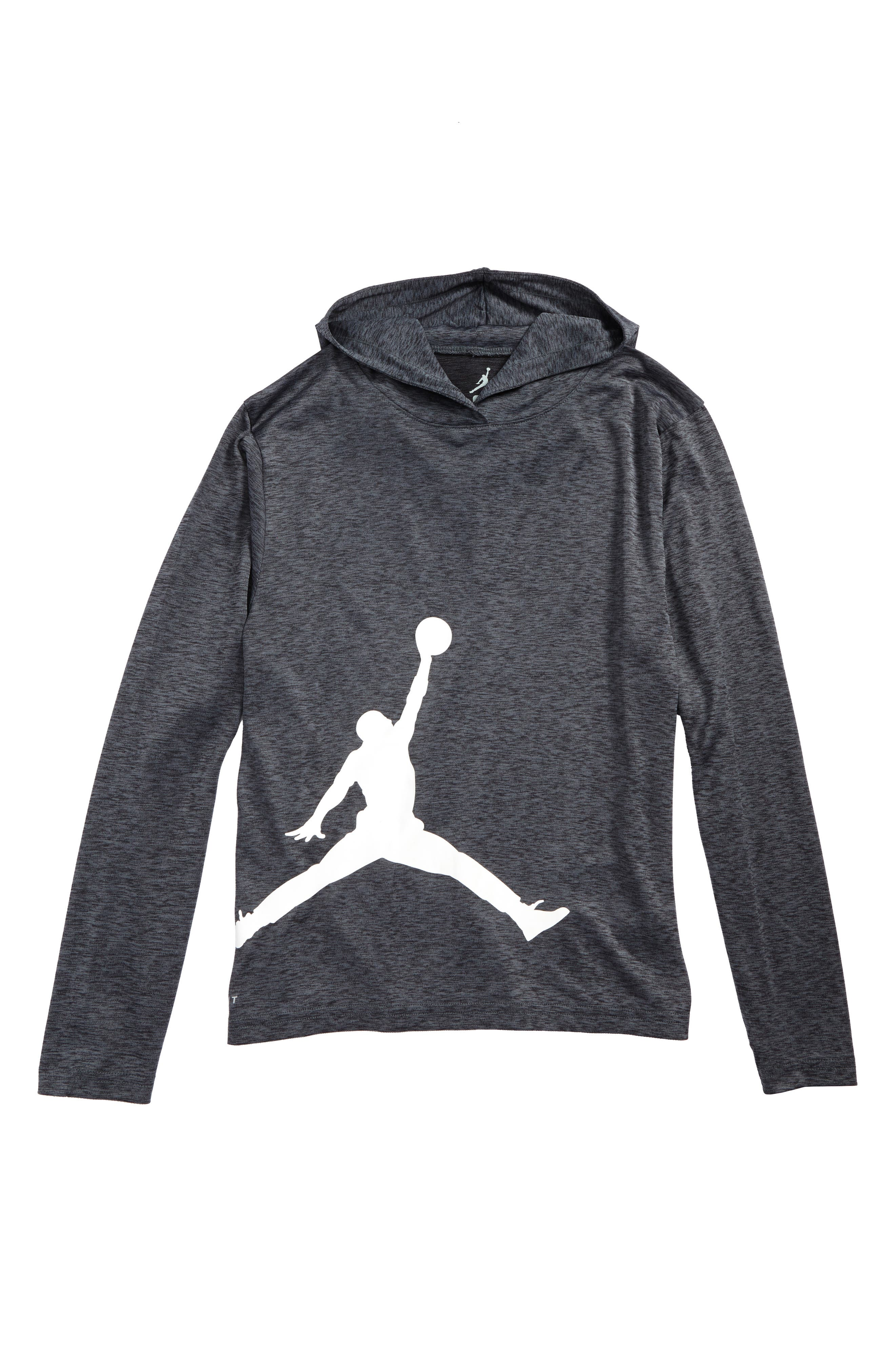 Jordan Flight Dry Hooded T-Shirt (Big Boys)