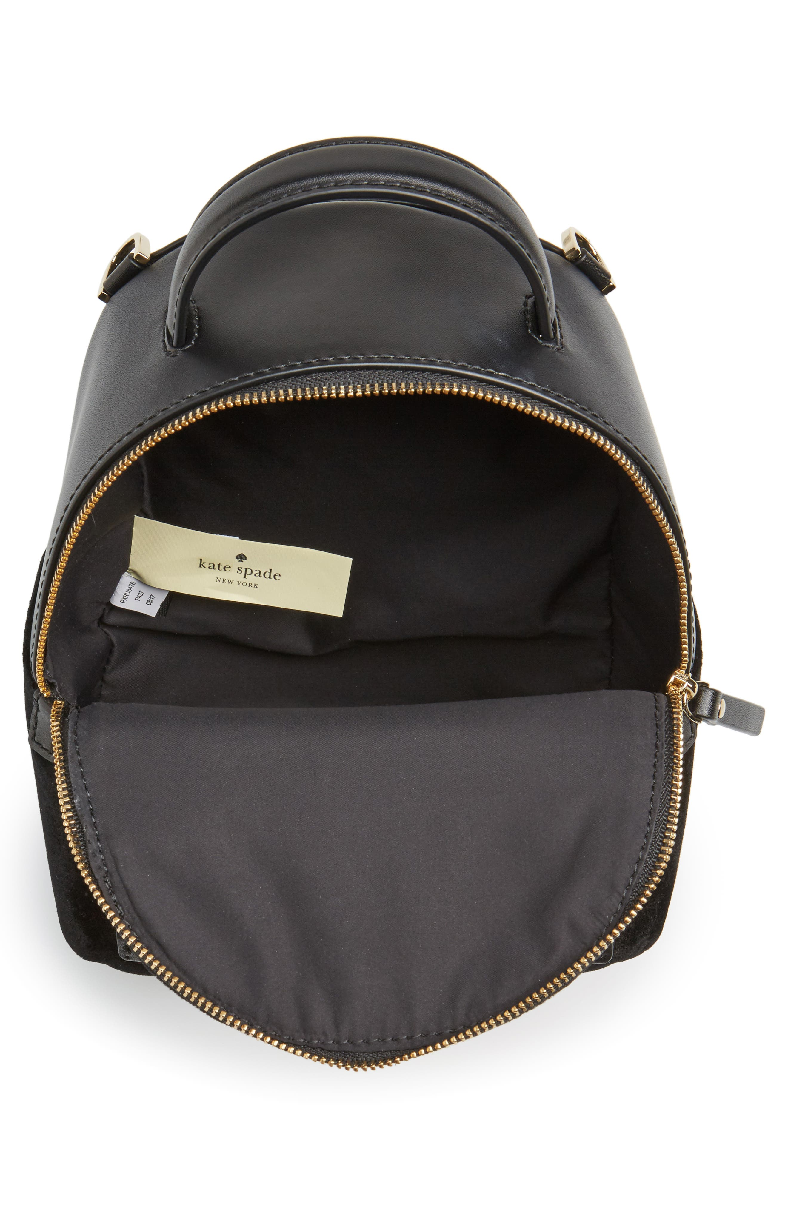 Alternate Image 4  - kate spade new york watson lane velvet merry convertible backpack