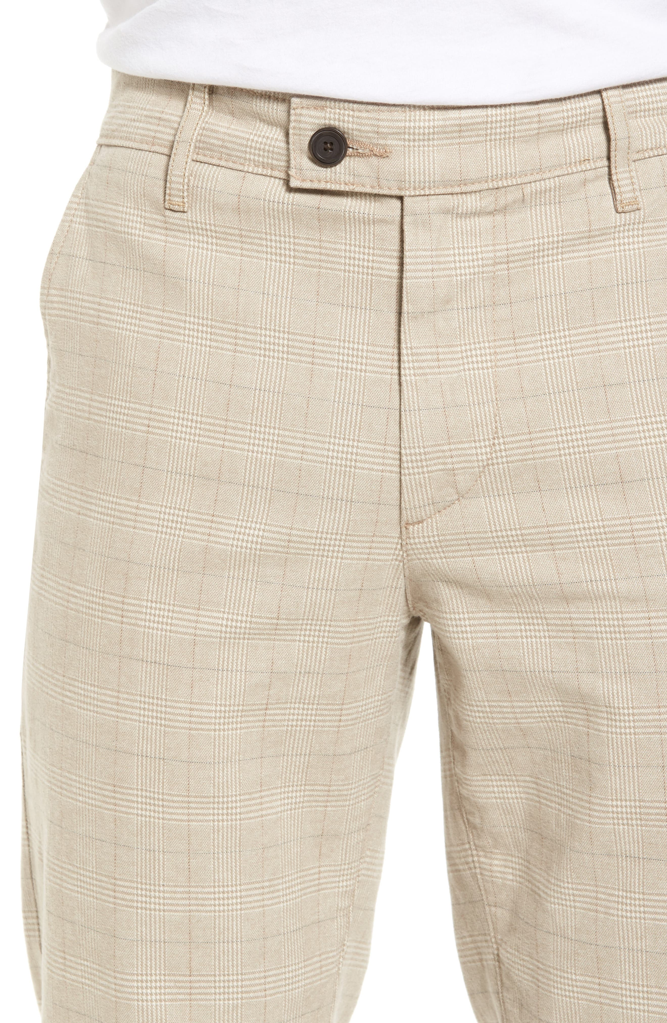 Marshall Slim Fit Pants,                             Alternate thumbnail 4, color,                             Silica Sand