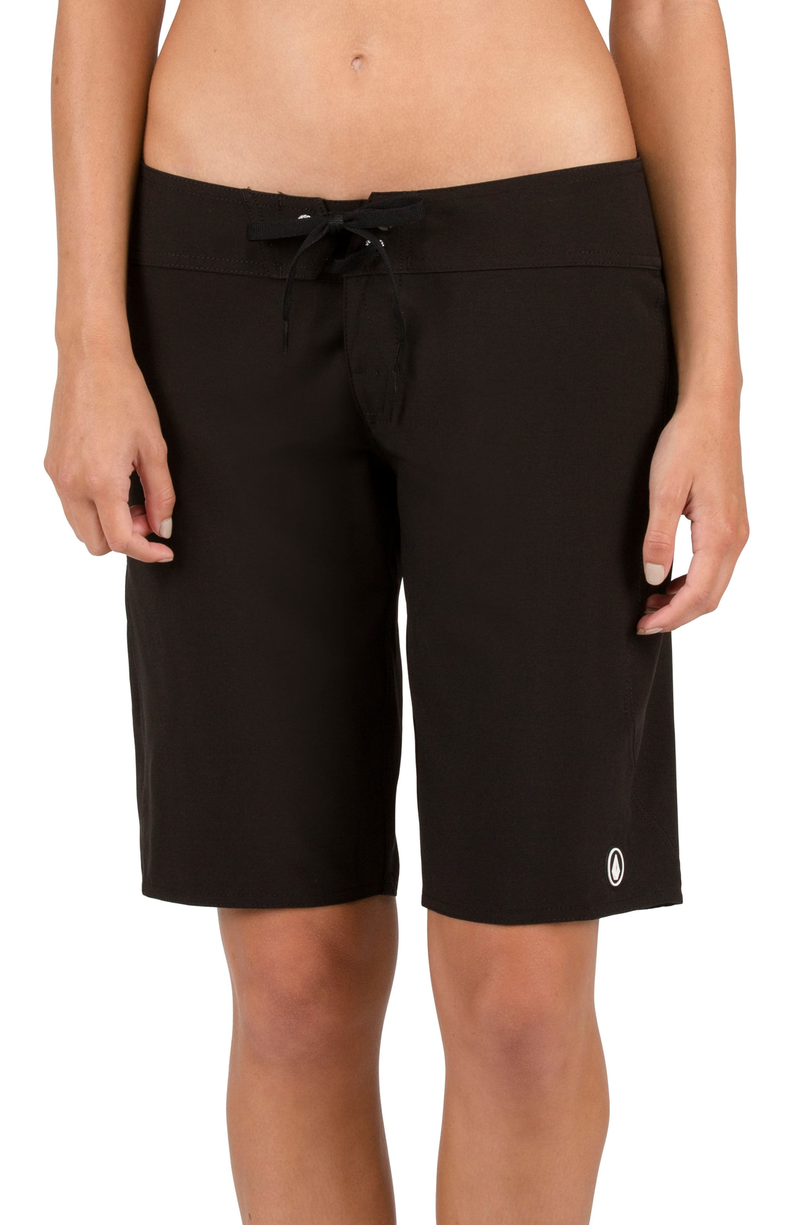 Simply Solid 11-Inch Board Shorts,                         Main,                         color, Black