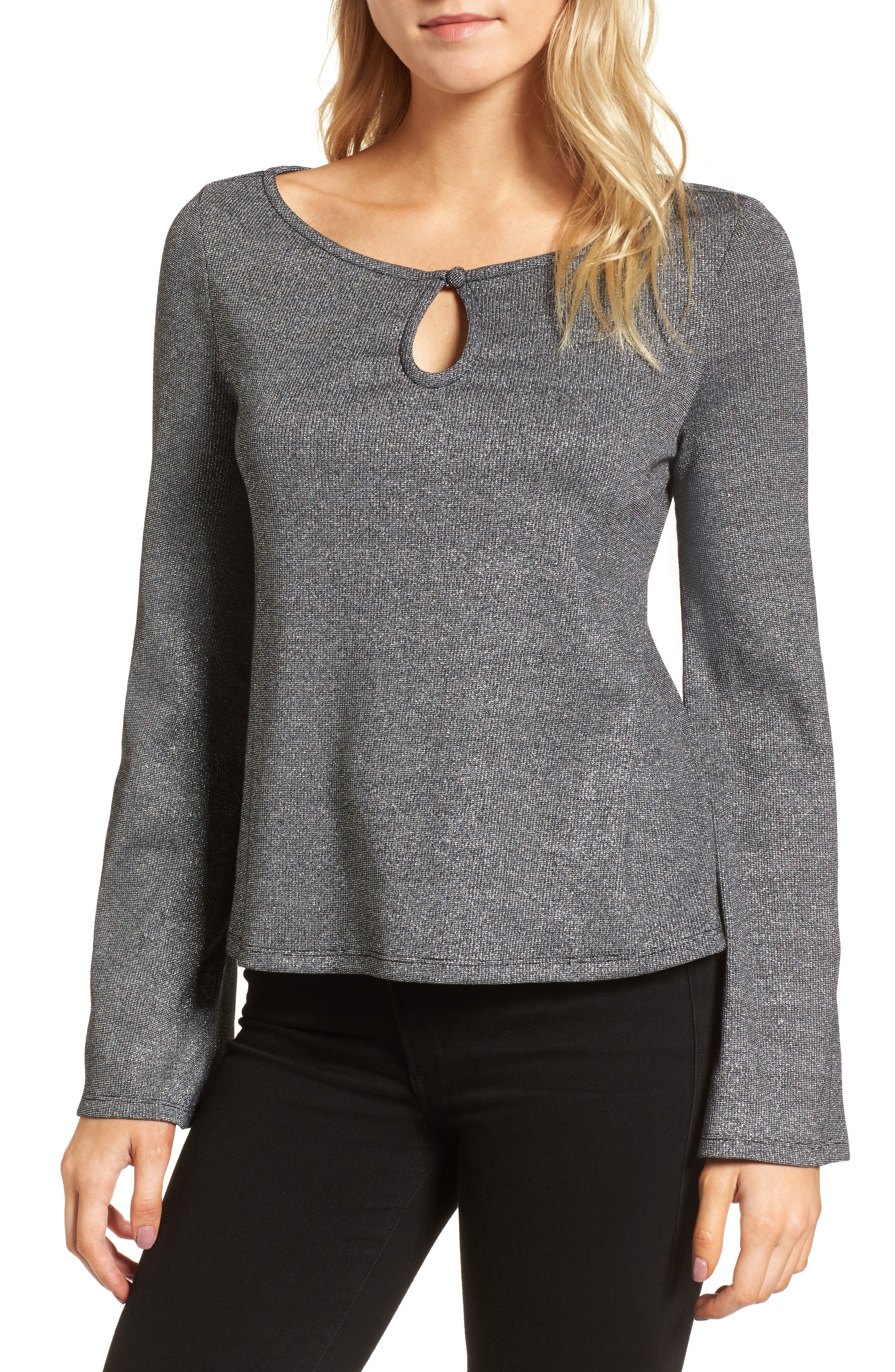 cupcakes and cashmere Mandell Knit Top