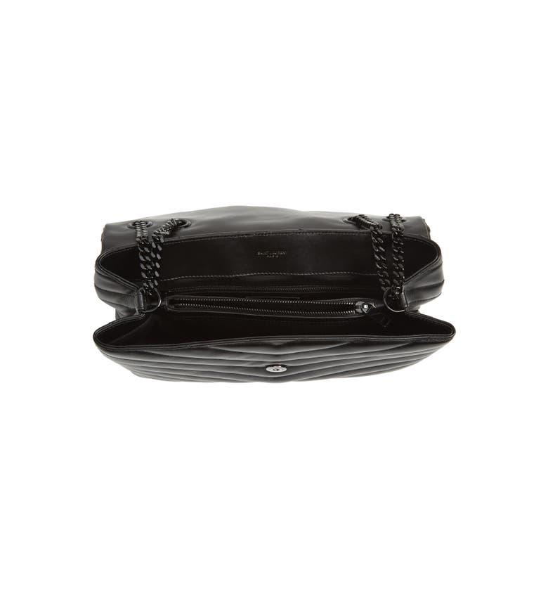 b9096e76ace122 Saint Laurent Loulou Monogram Ysl Medium Chain Bag With Black Hardware |  ModeSens