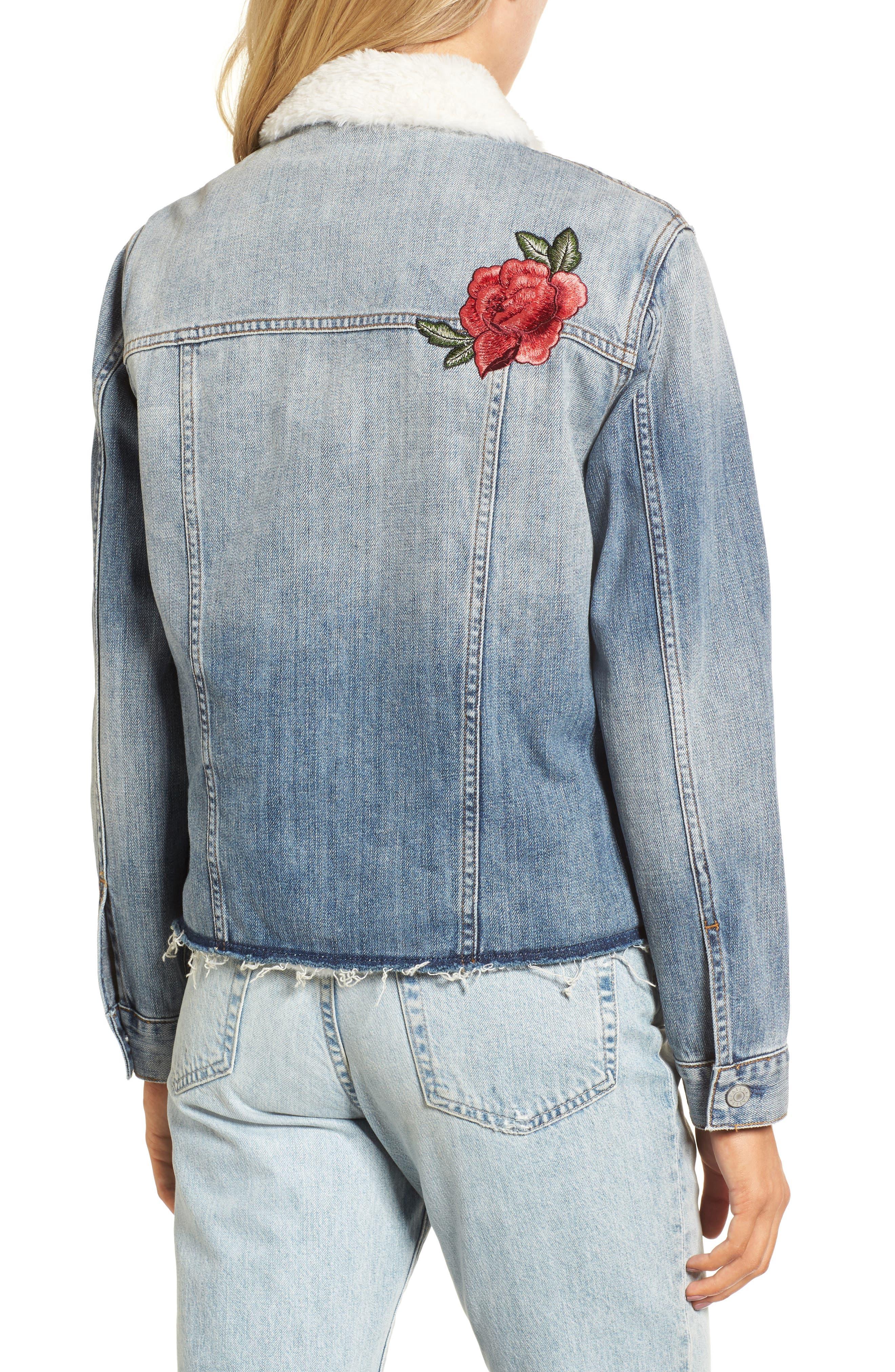 Alternate Image 2  - Rails Ramsey Embroidered Denim Jacket