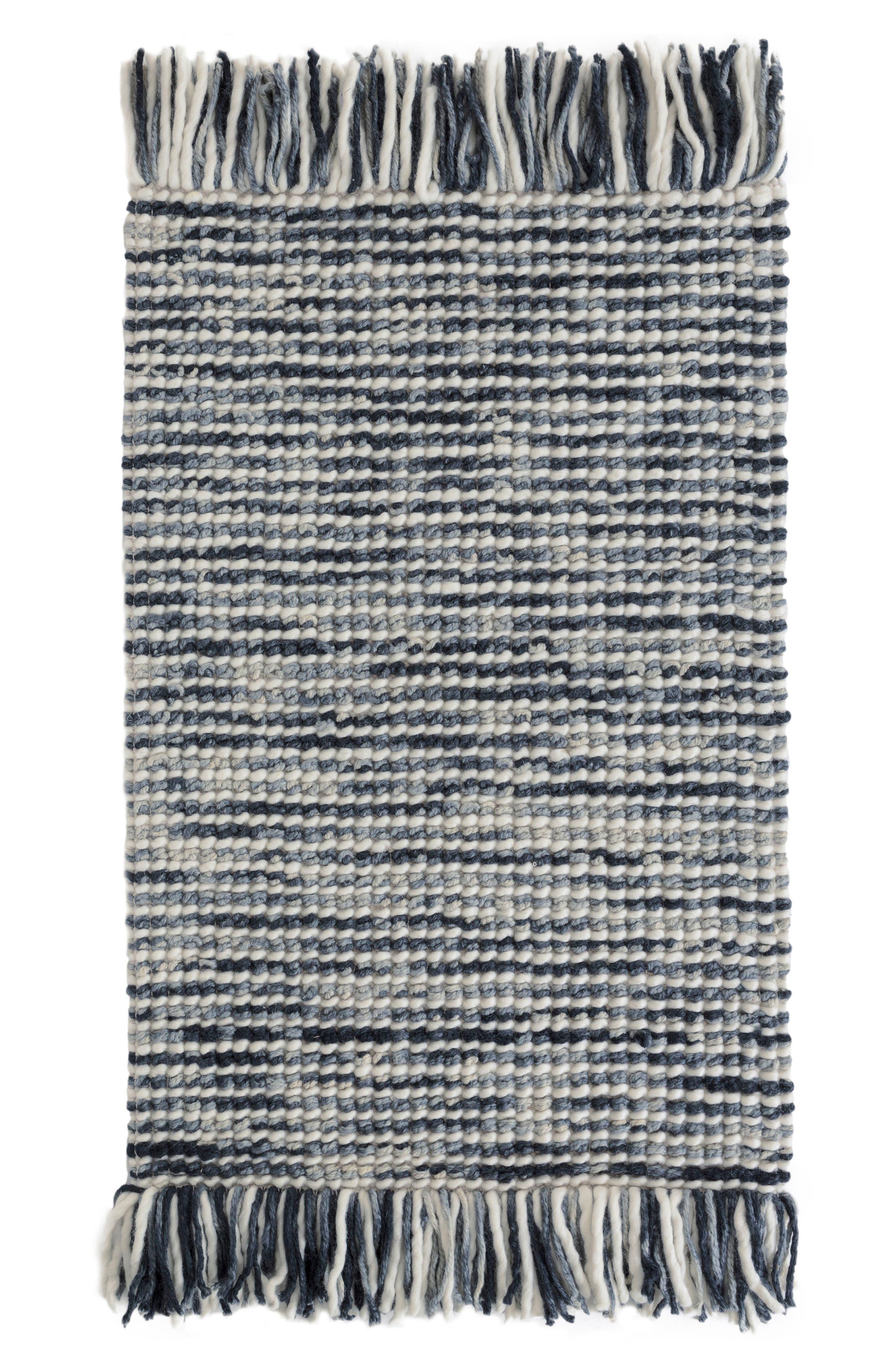 Lanka Woven Rug,                         Main,                         color, Blue