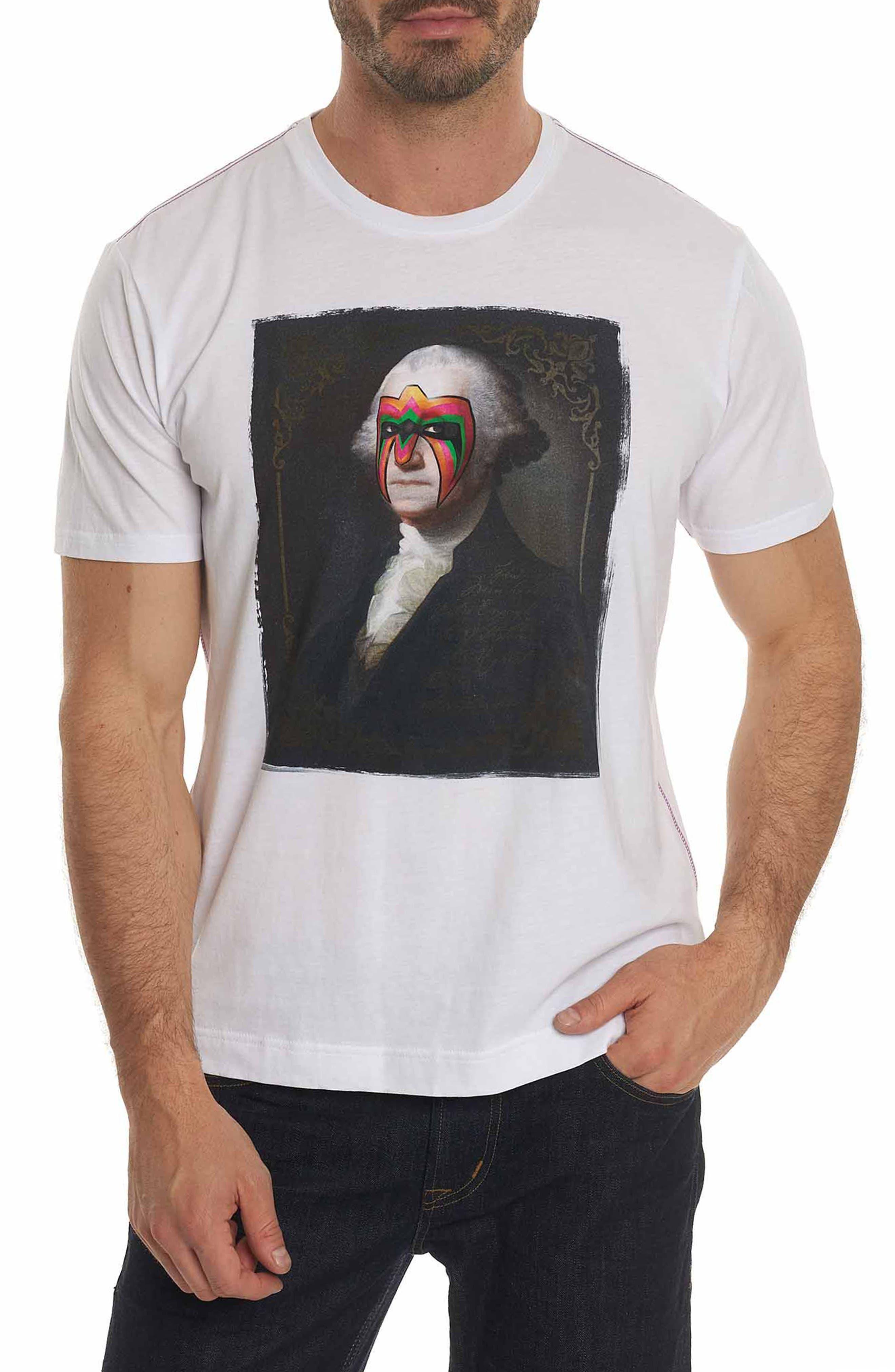 Main Image - Robert Graham Washington Graphic T-Shirt